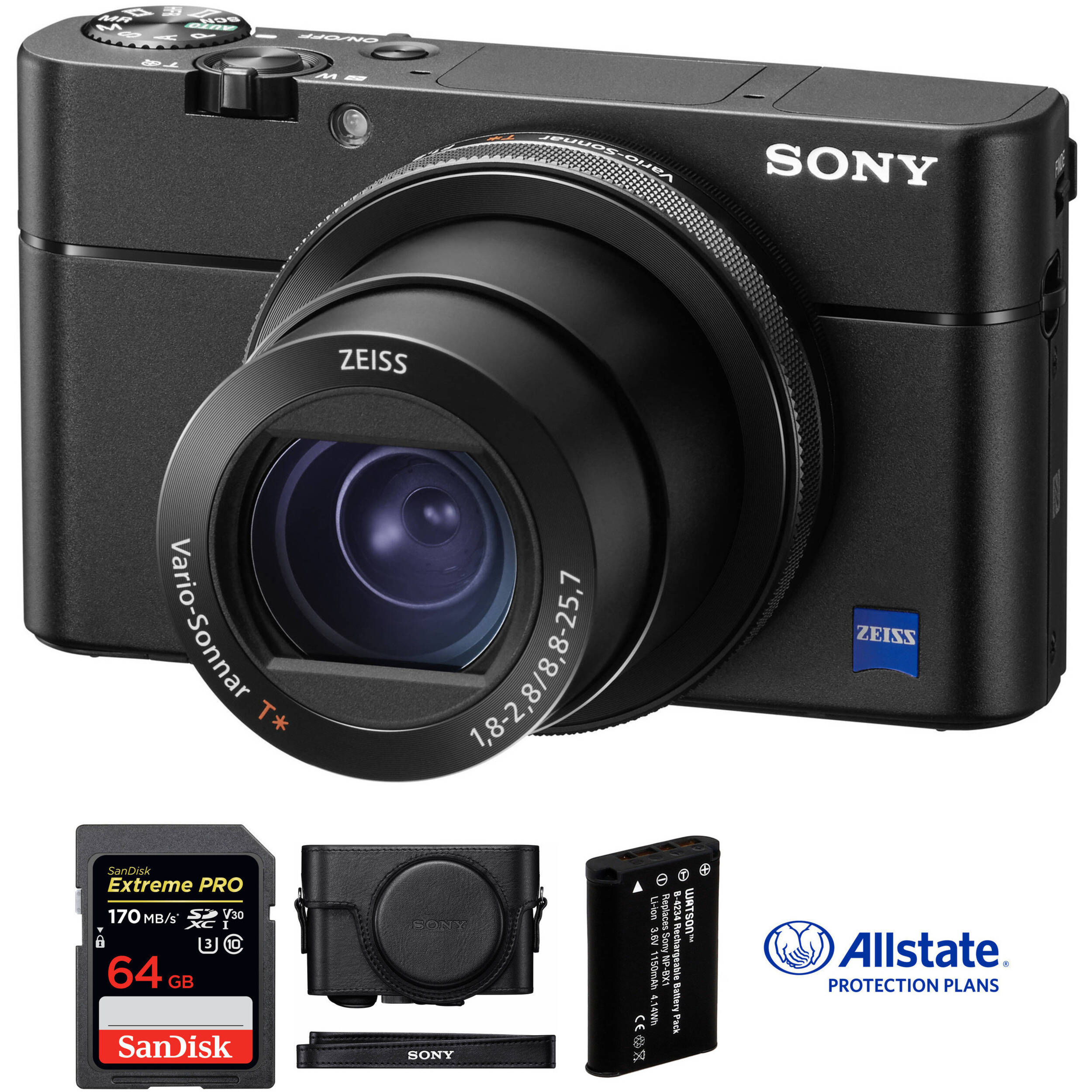 Sony Cyber-shot DSC-RX100 V Digital Camera Deluxe Kit