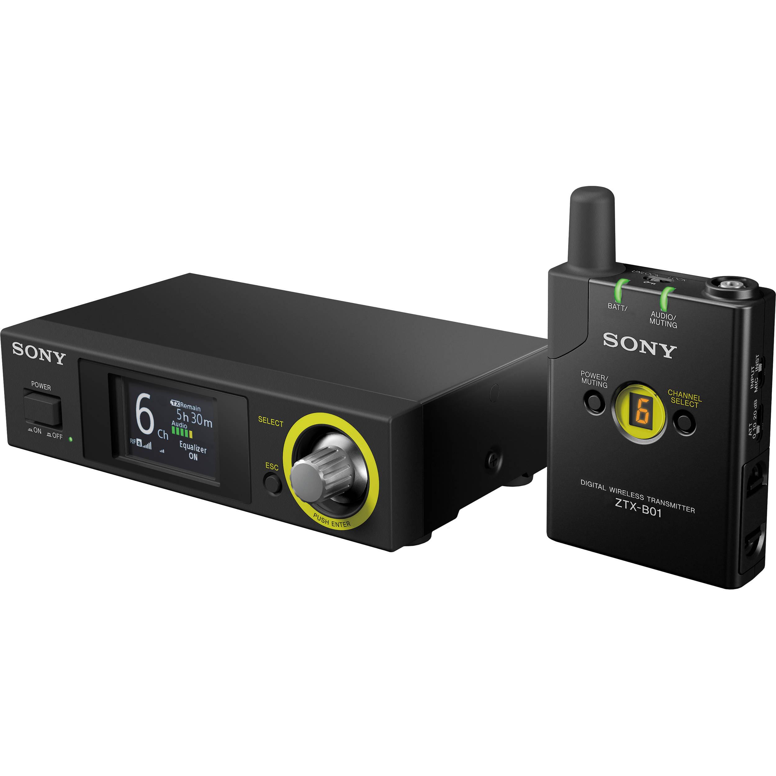 Sony Dwz Series Digital Wireless Guitar System B50gb Bh Eq To Reciever Wiring Diagram 24020 24785 Mhz