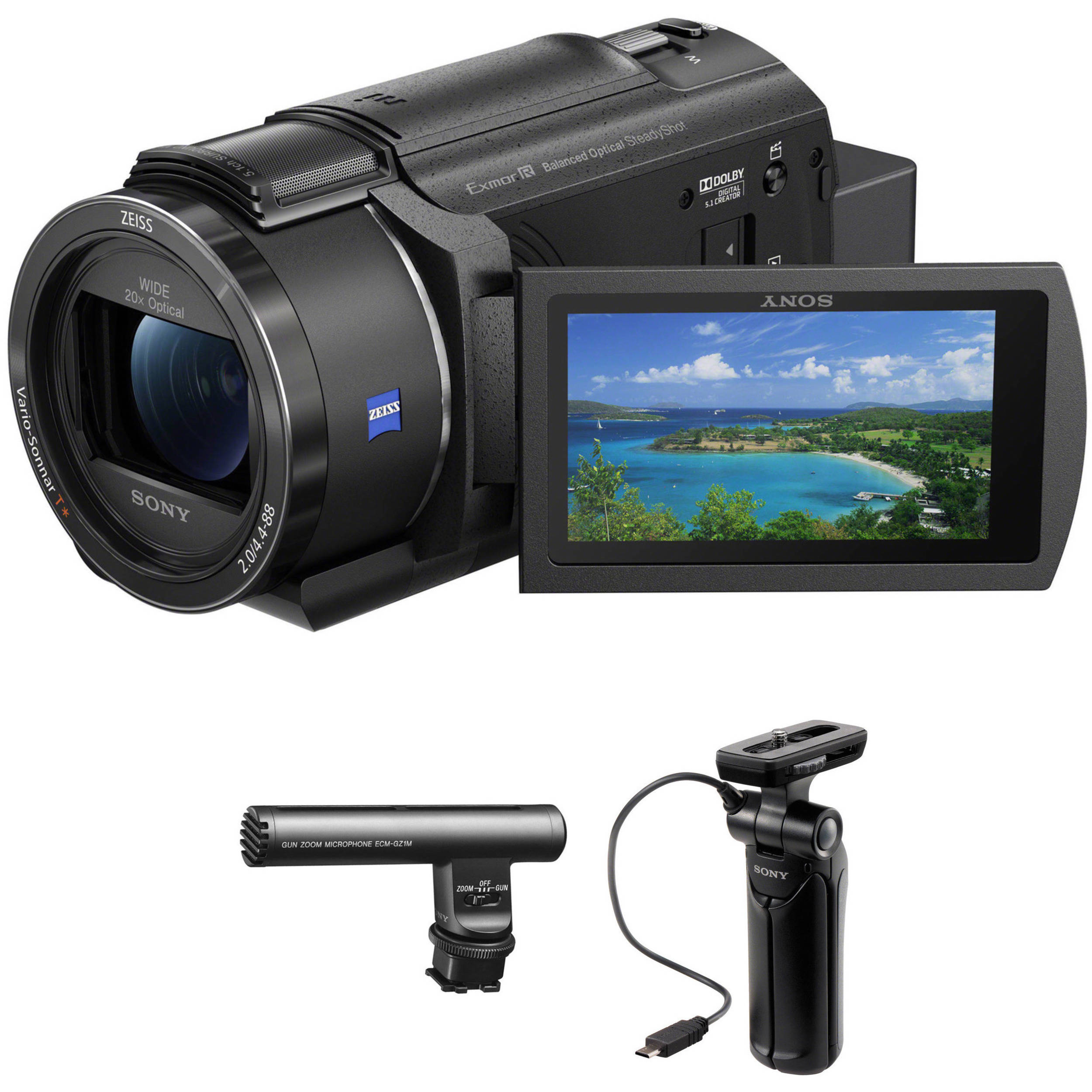 Microphone sony camcorder Best camcorders