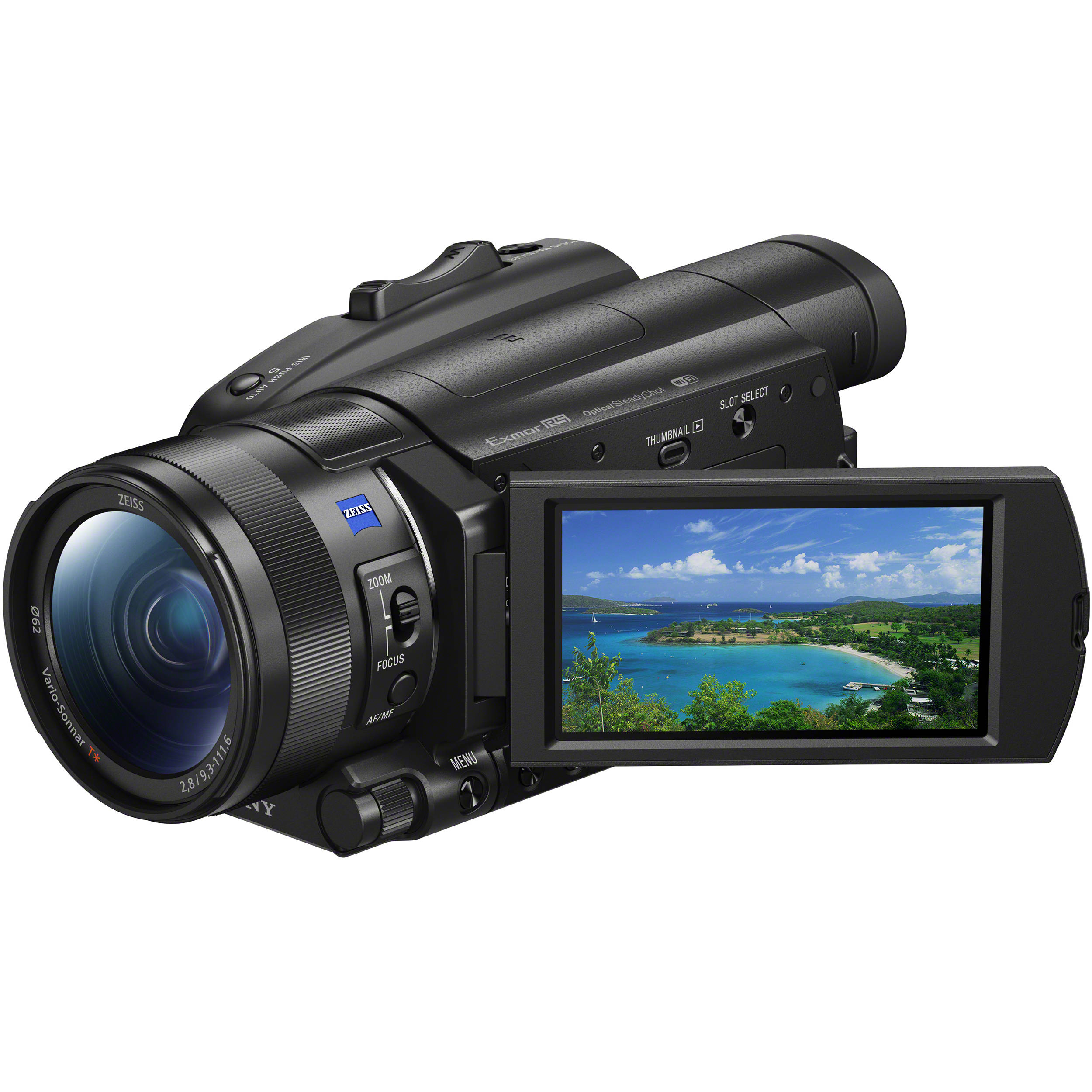 Sony FDR-AX700 4K Camcorder FDR-AX700/B B\u0026H Photo Video