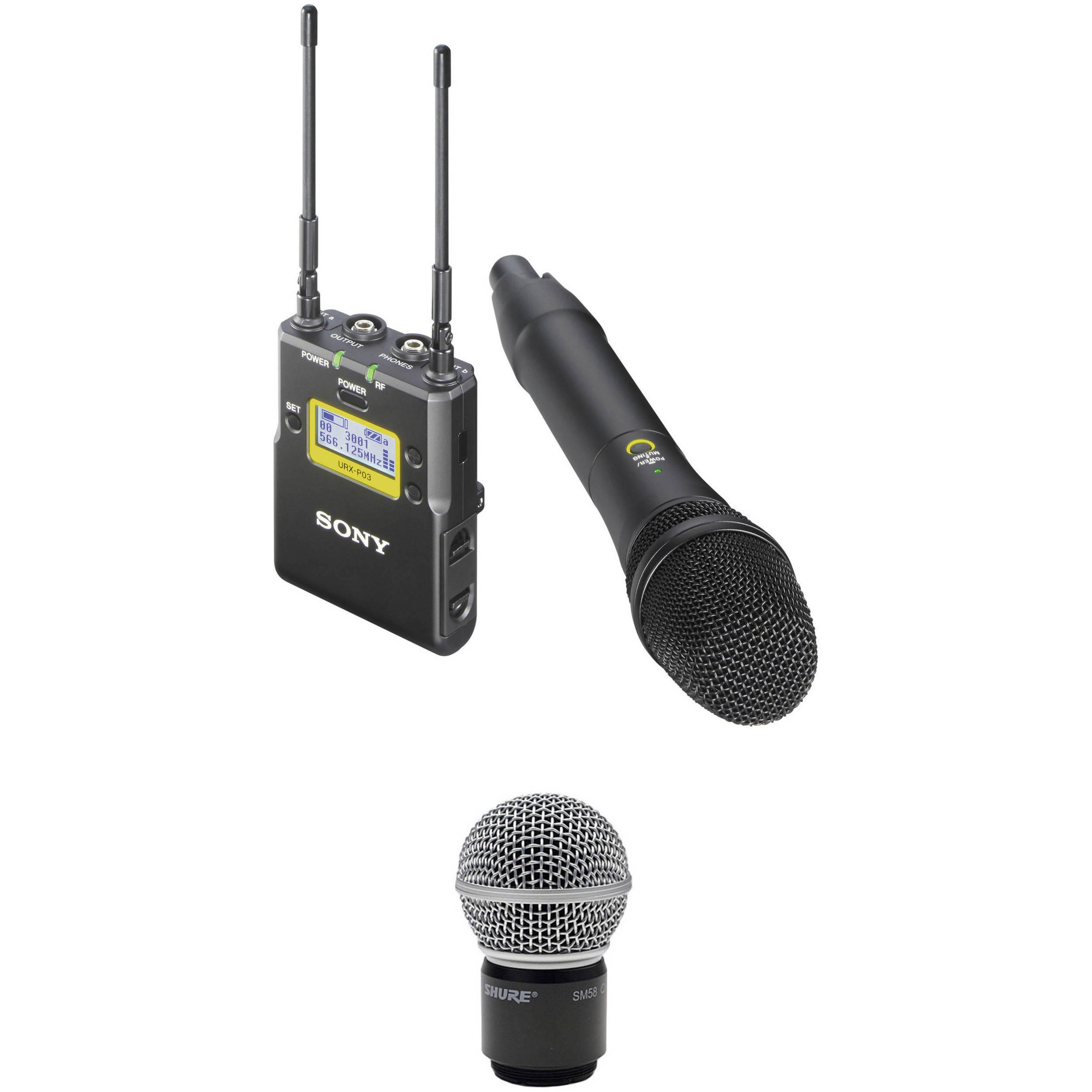 sony uwp d12 integrated digital wireless handheld microphone b h. Black Bedroom Furniture Sets. Home Design Ideas