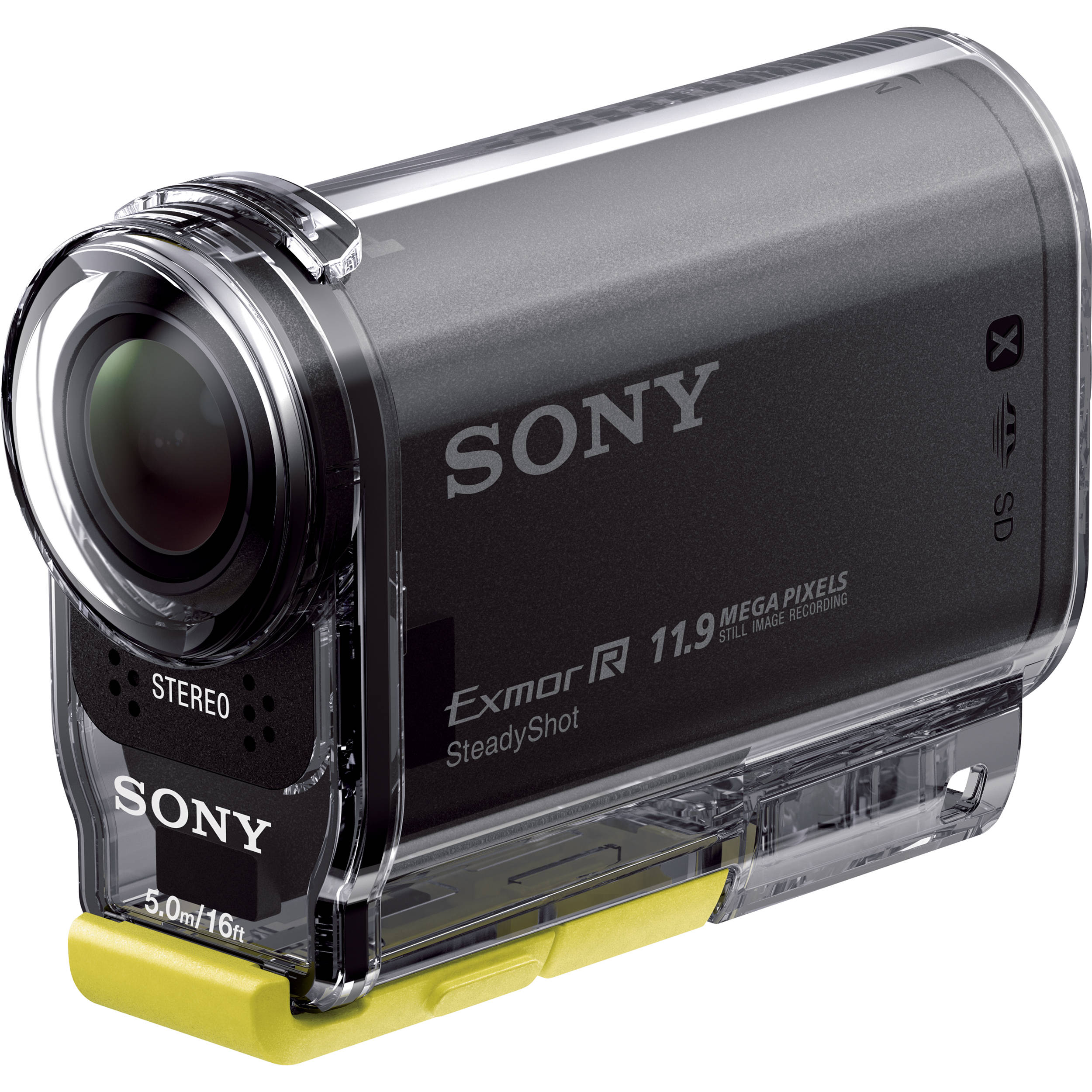 sony hdr as20 hd pov action cam hdras20 b b h photo video. Black Bedroom Furniture Sets. Home Design Ideas