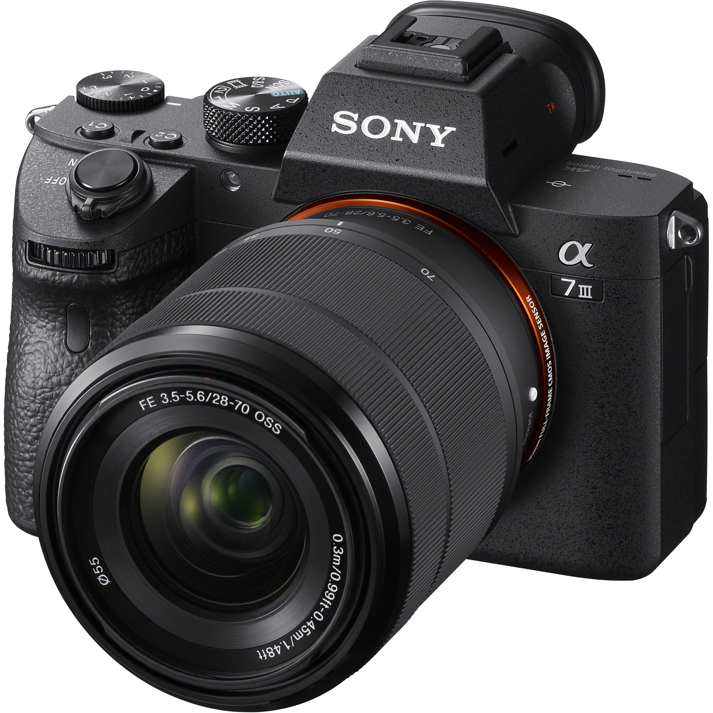 Sony Alpha a7 III Mirrorless Digital Camera ILCE7M3K/B B&H Photo