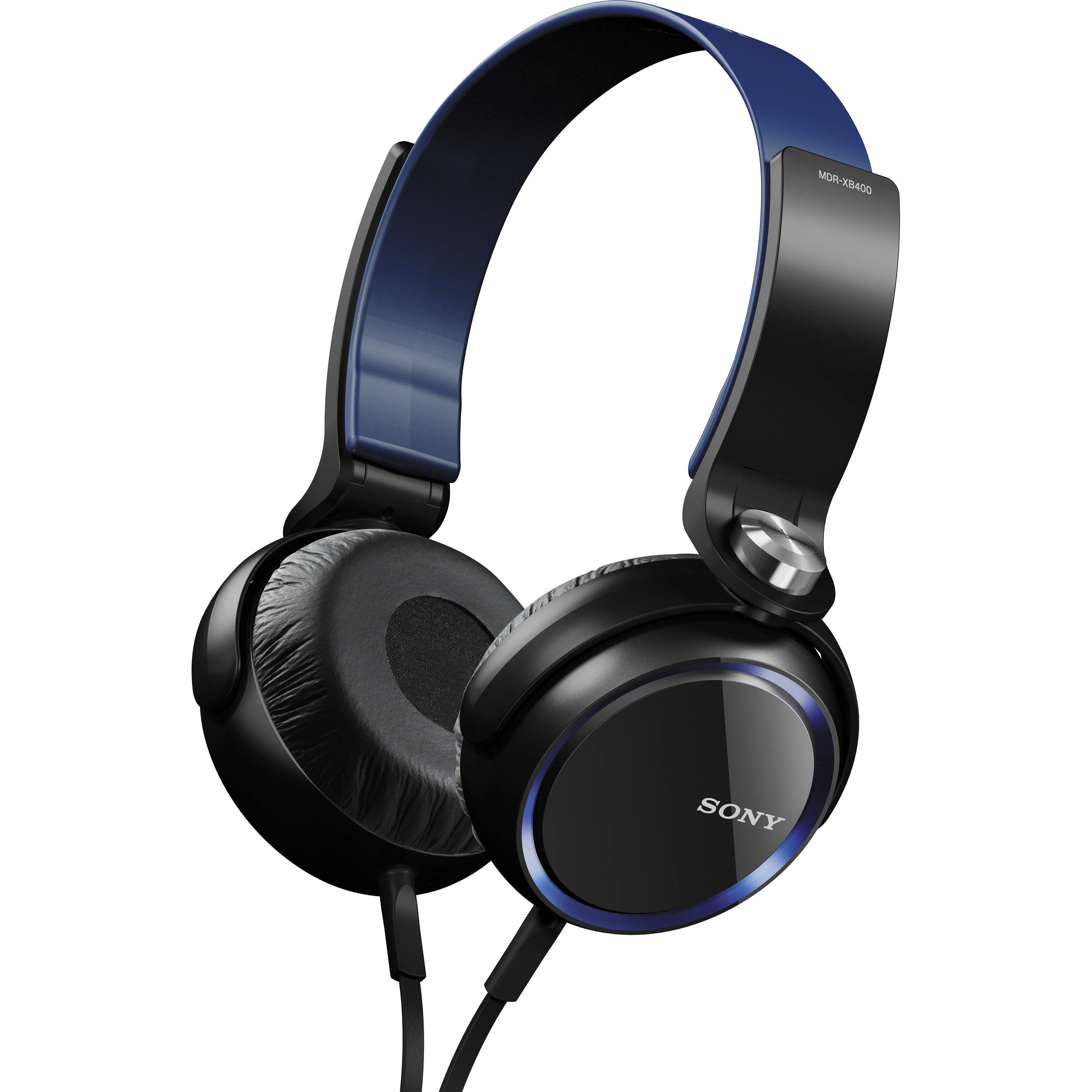 3da9c45475e Sony XB Series Extra Bass Headphones (Blue) MDRXB400/BLU B&H