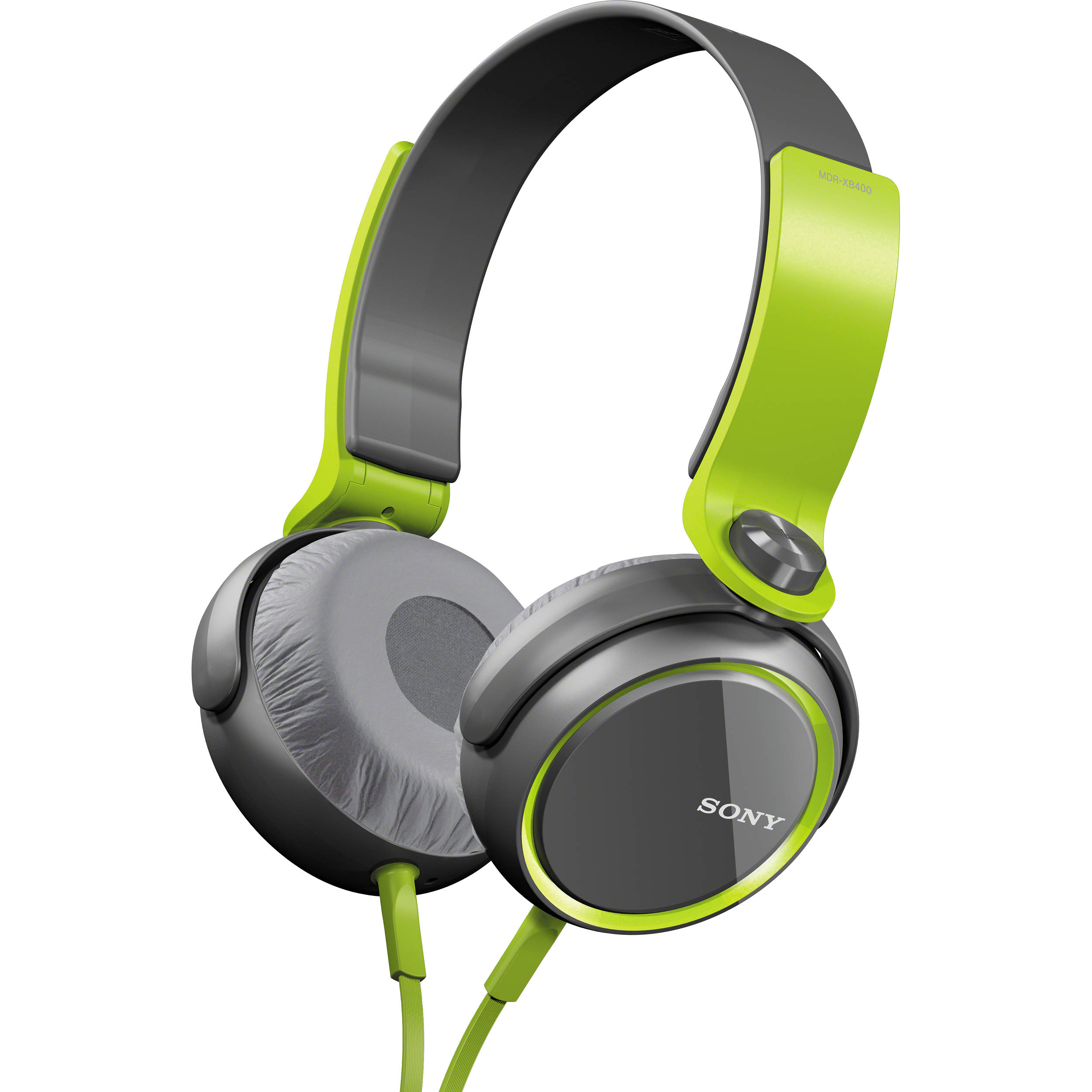 b492714af52 Sony XB Series Extra Bass Headphones (Green) MDRXB400/GRN B&H