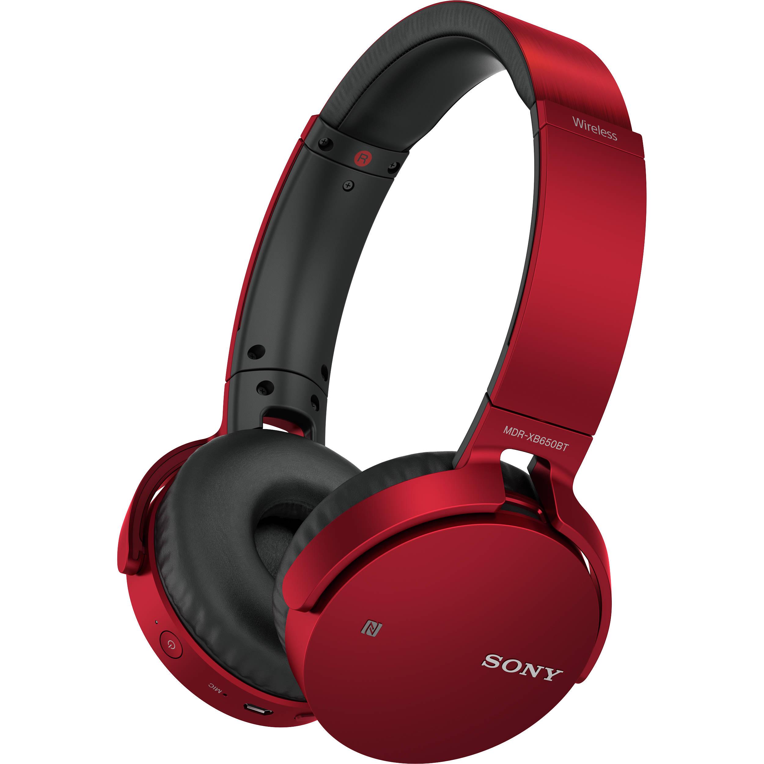 Sony red bluetooth headphones - headphones sony mdrv6