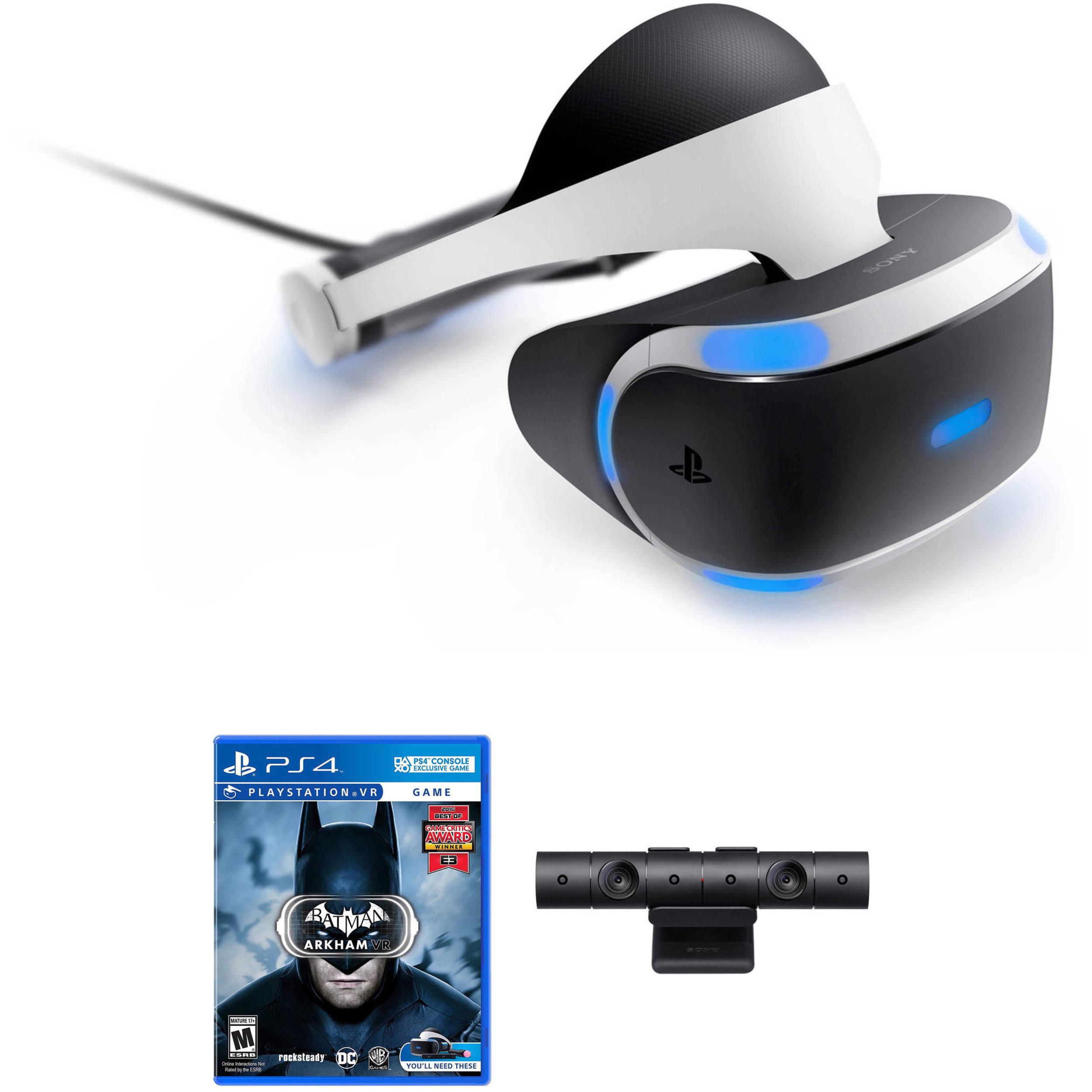 e3218a0ea Sony PlayStation VR Headset   Camera Kit with Batman  Arkham VR