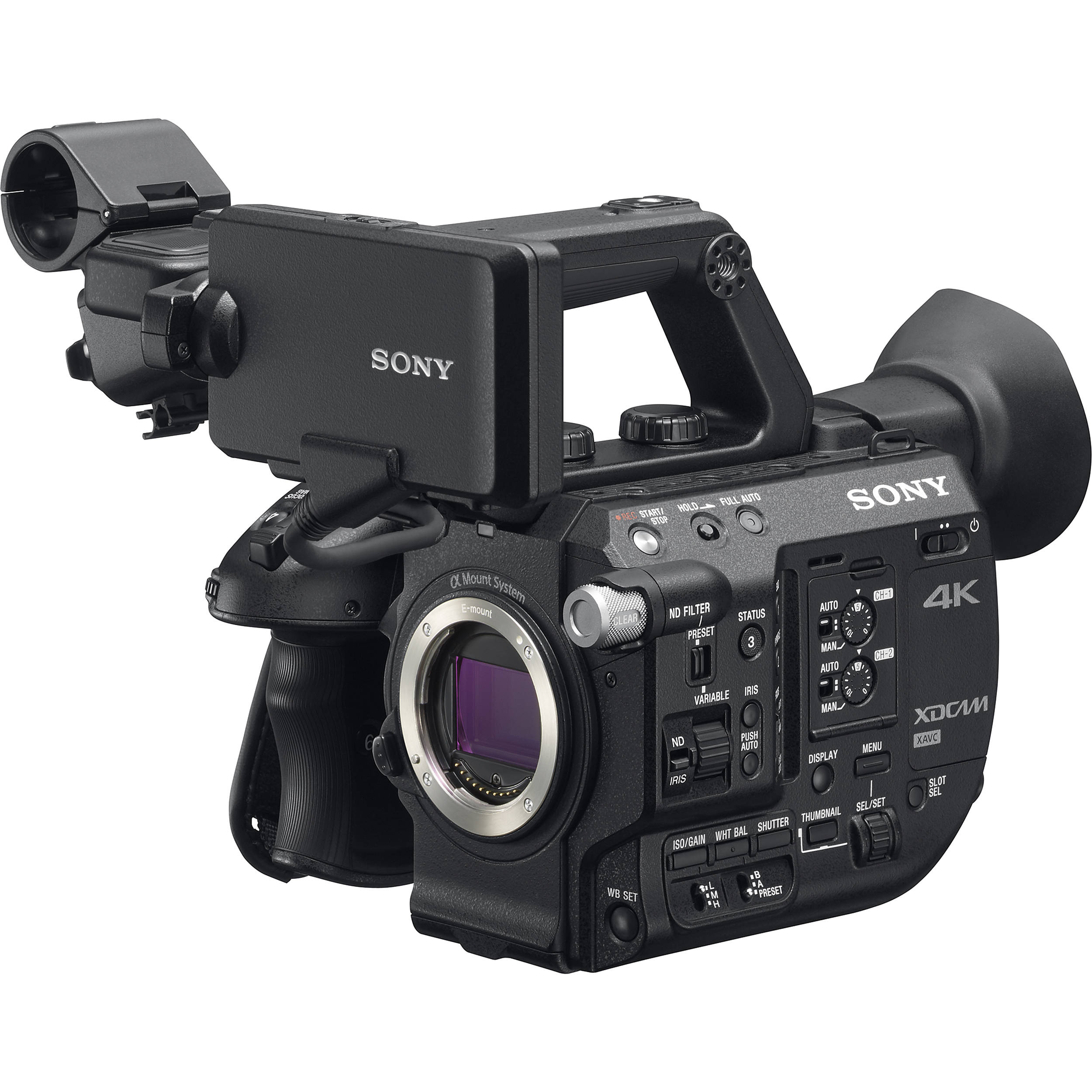 sony pxw fs5 xdcam super 35 camera system pxw fs5 b h photo. Black Bedroom Furniture Sets. Home Design Ideas