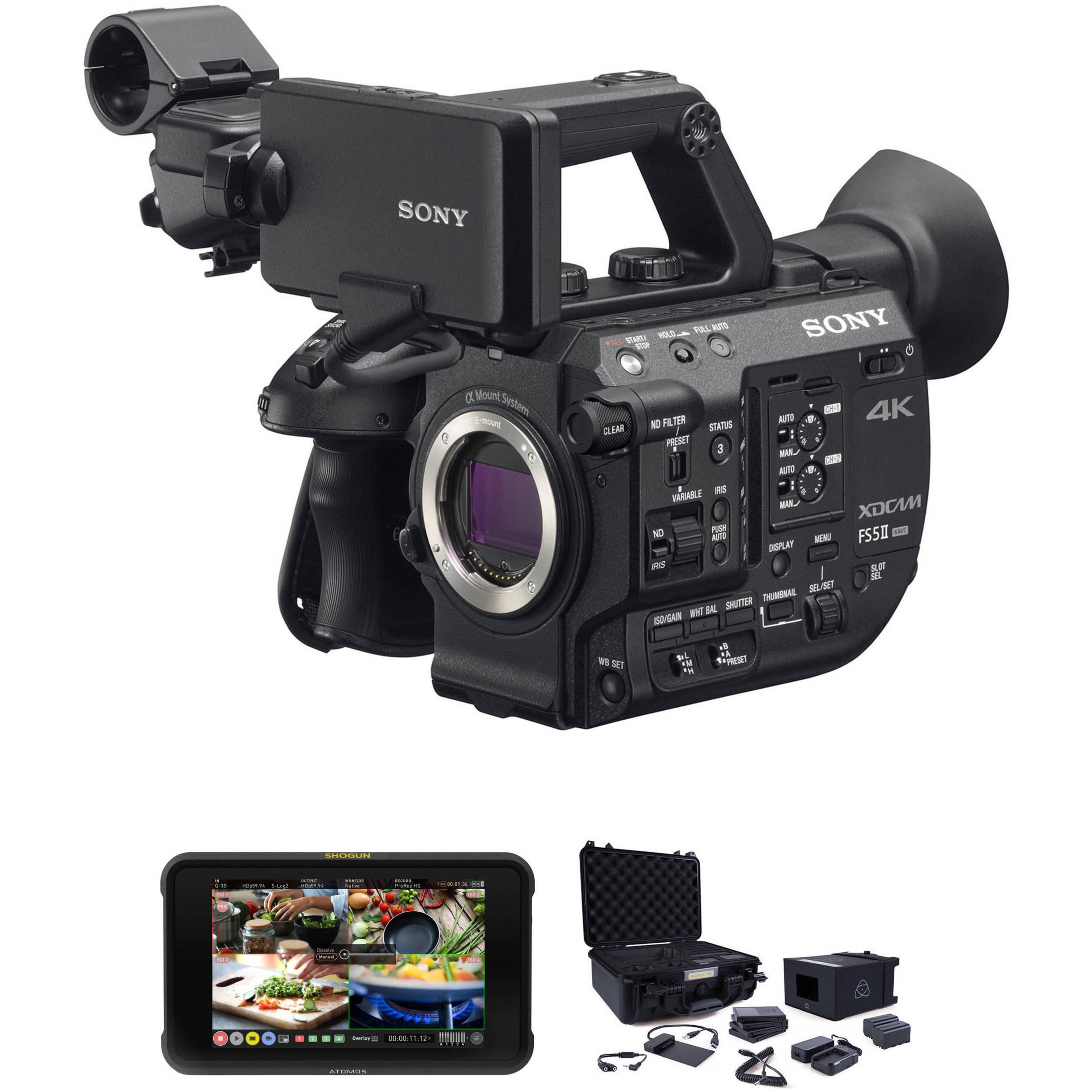Sony PXW-FS5 XDCAM Super 35 Camera System