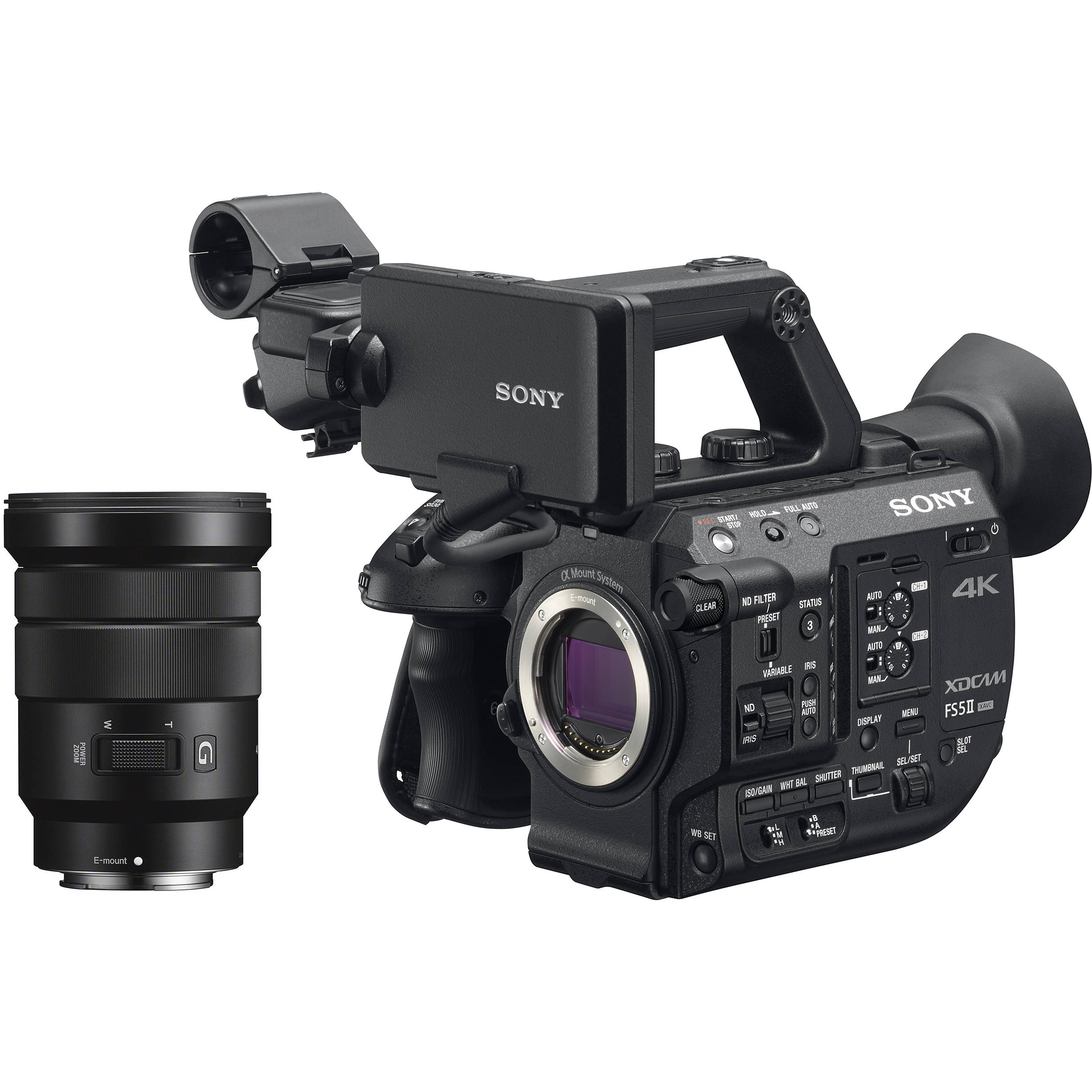 Sony PXW-FS5M2 4K XDCAM Super 35mm Compact Camcorder PXW