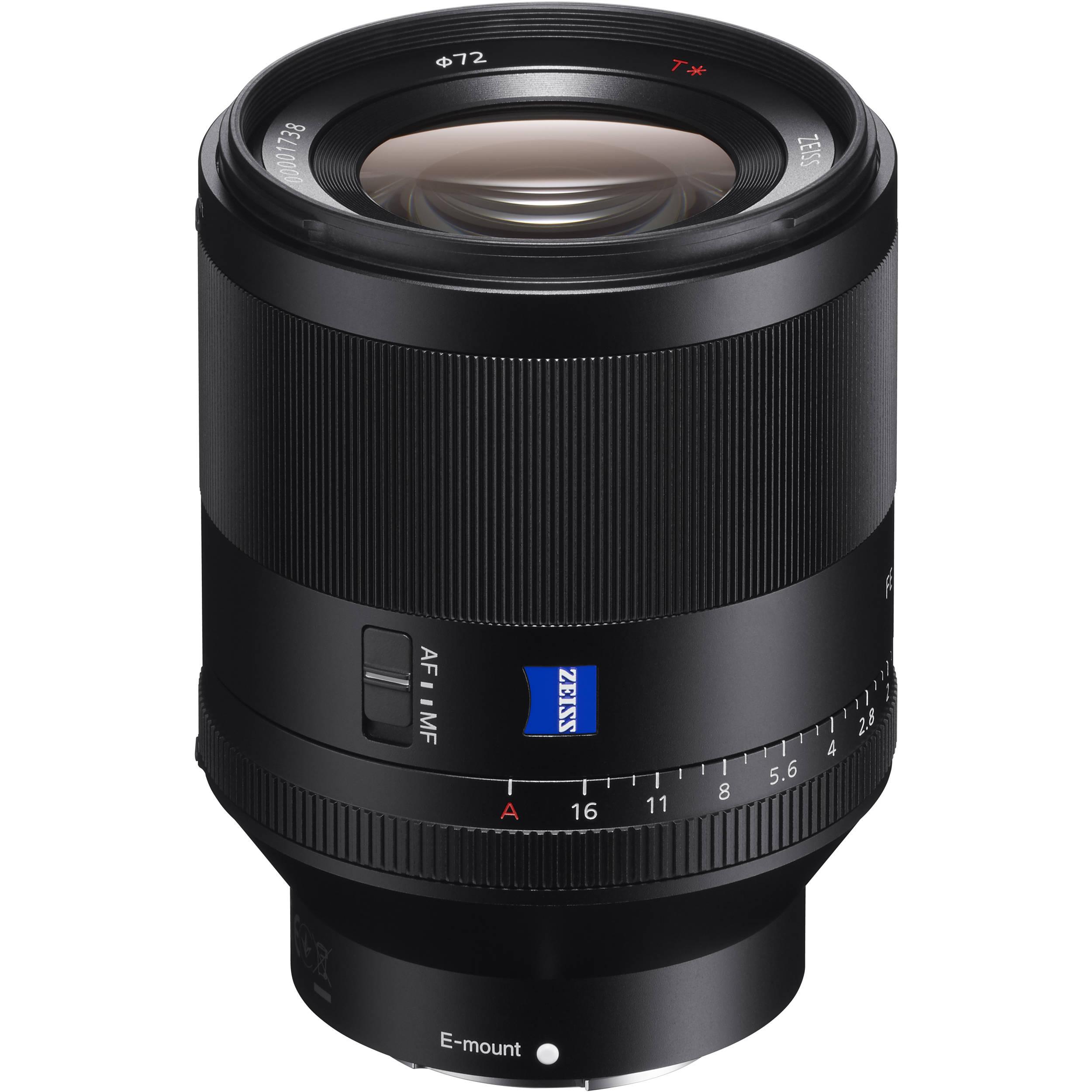 c91a9214b3156 Sony Planar T  FE 50mm f 1.4 ZA Lens SEL50F14Z B H Photo Video