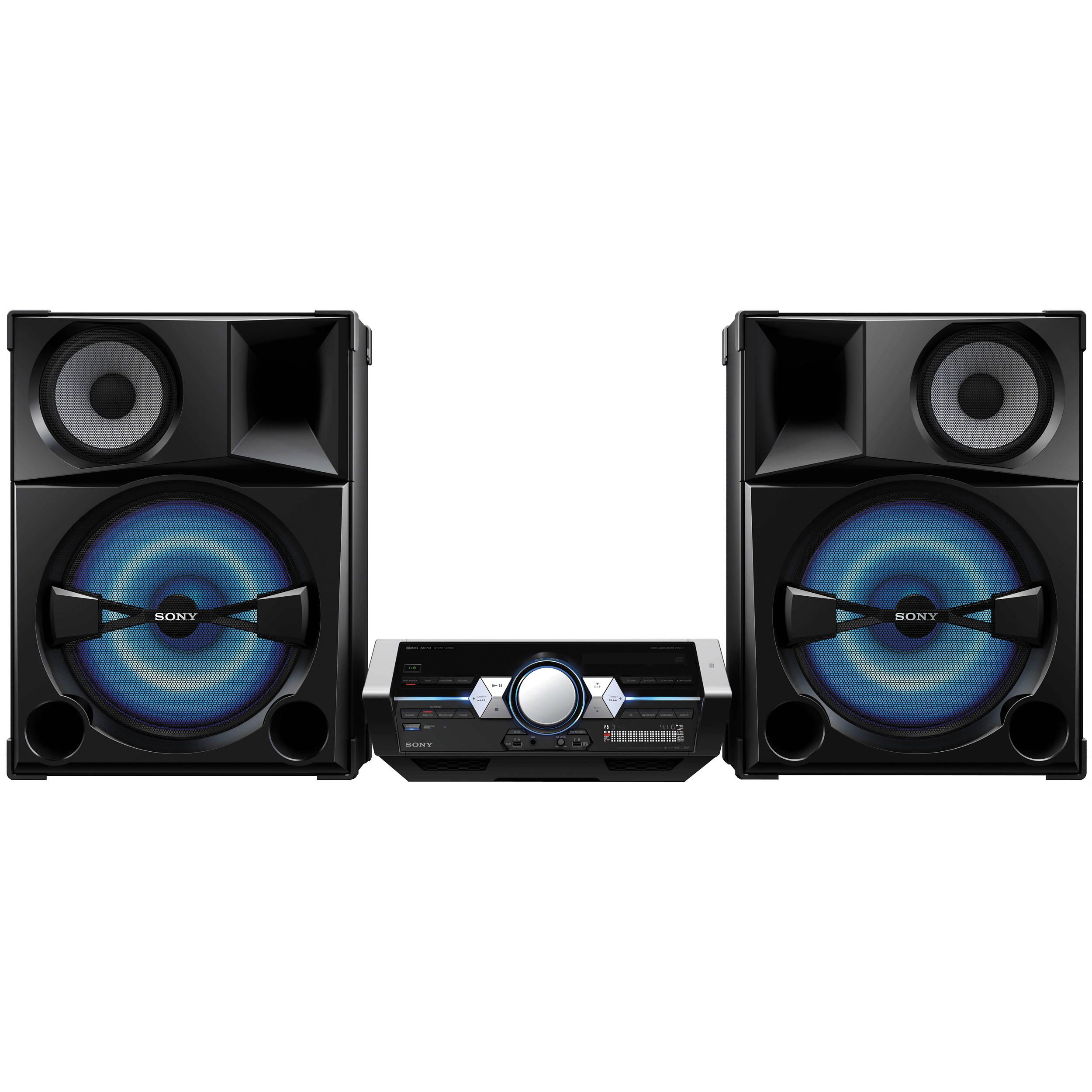 Sony Shake5 2400 Watt Audio System With Bluetooth Amp Shake5