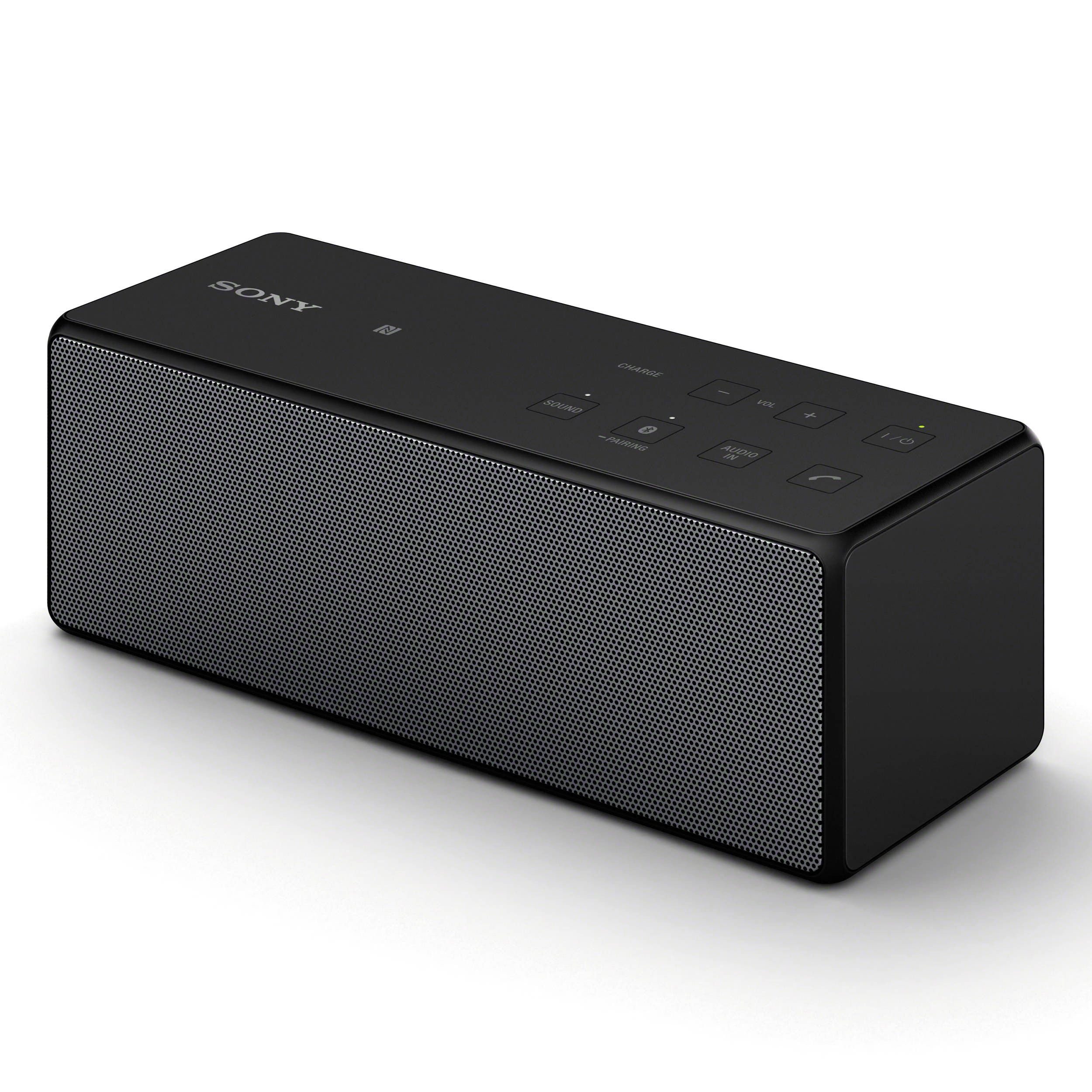 sony portable bluetooth speaker black srsx3 blk b h photo. Black Bedroom Furniture Sets. Home Design Ideas