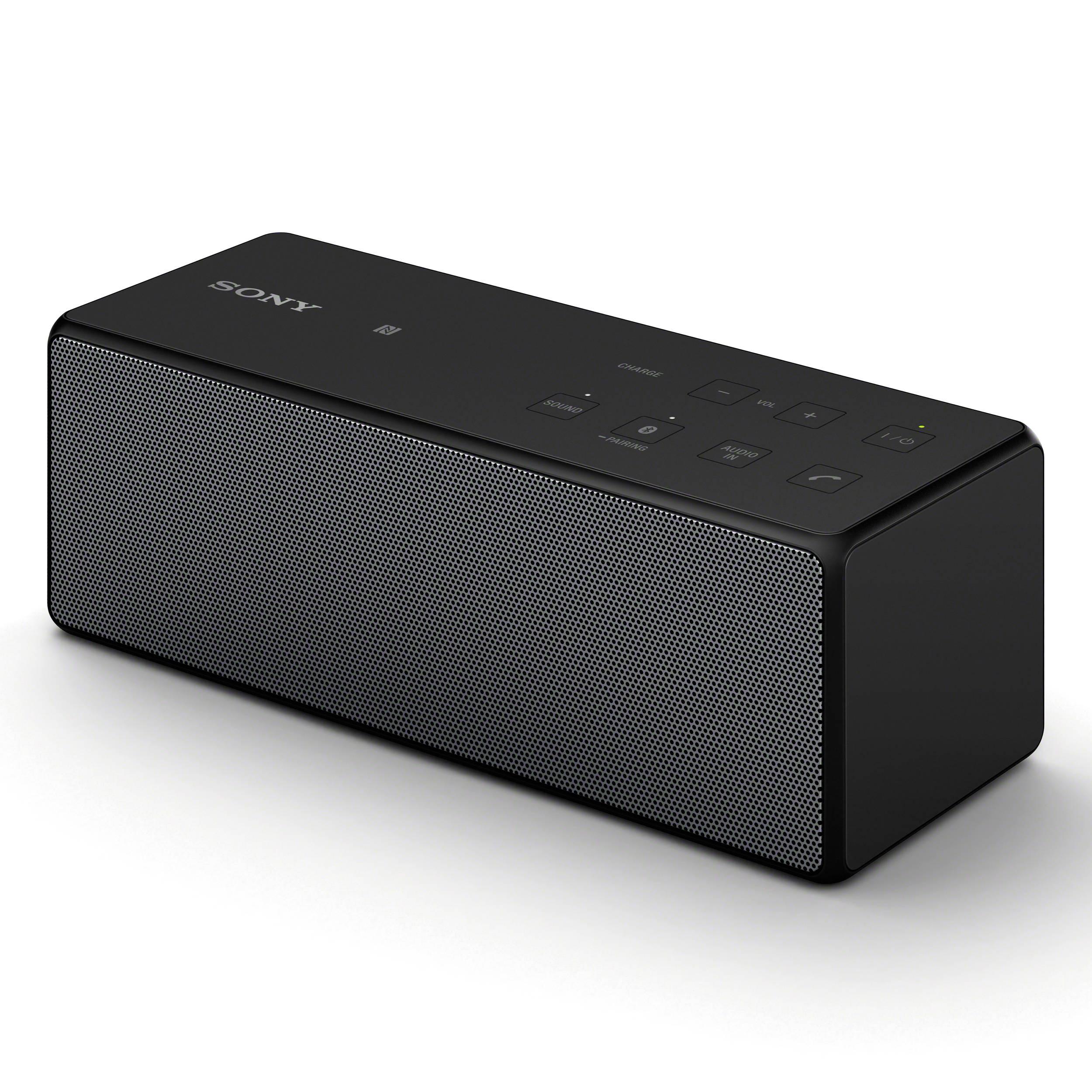 sony portable bluetooth speaker black srsx3 blk b h photo rh bhphotovideo com Magnavox Portable Speaker sony bluetooth speaker user manual