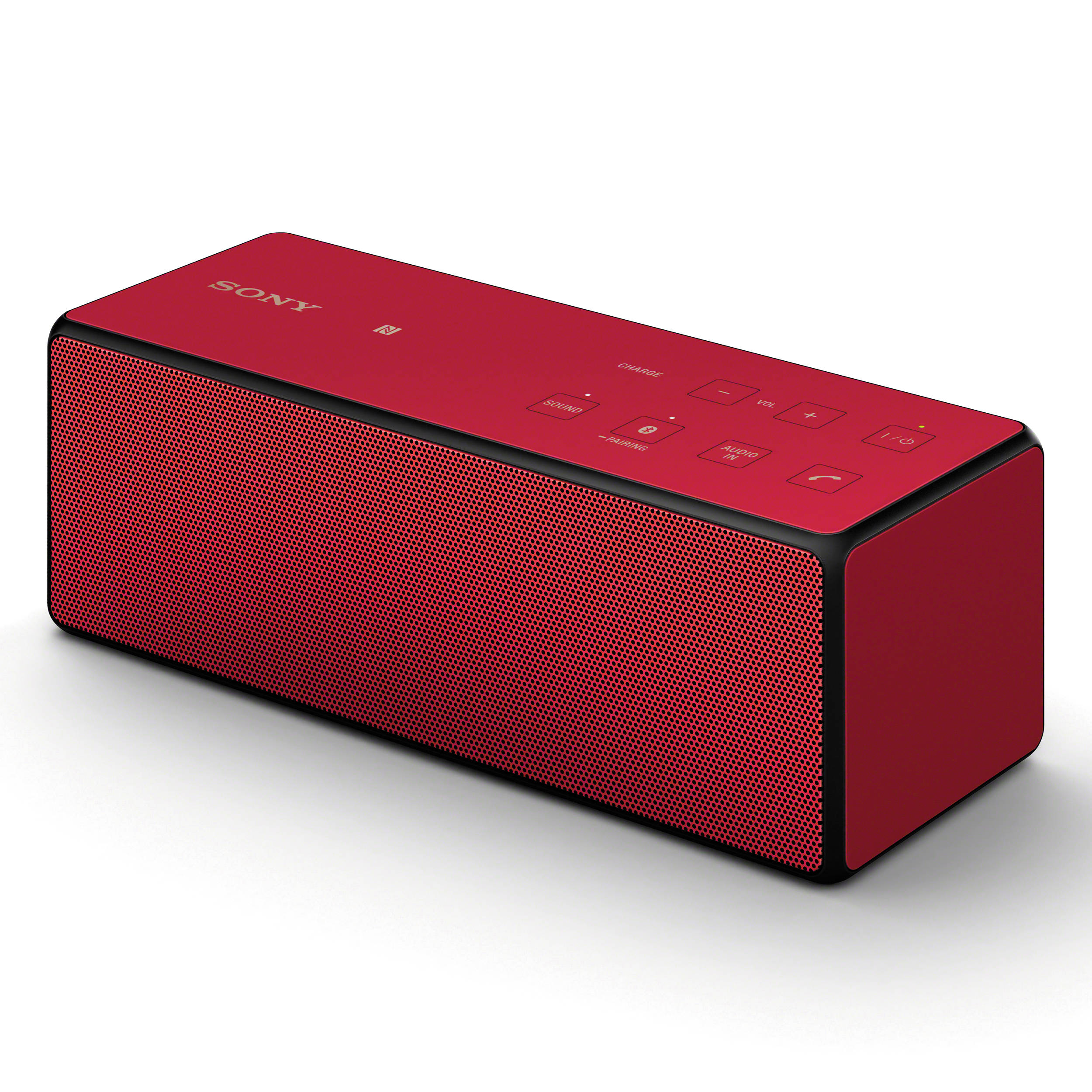 Bluetooth Speaker Portable Sony: Sony Portable Bluetooth Speaker (Red) SRSX3/RED B&H Photo Video