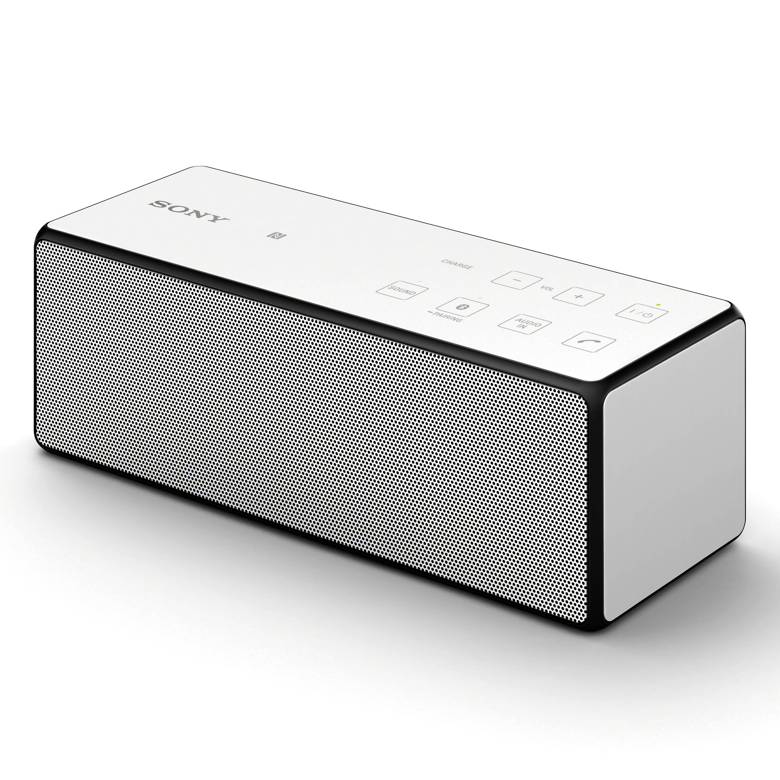 sony portable bluetooth speaker white srsx3 wht b h photo. Black Bedroom Furniture Sets. Home Design Ideas