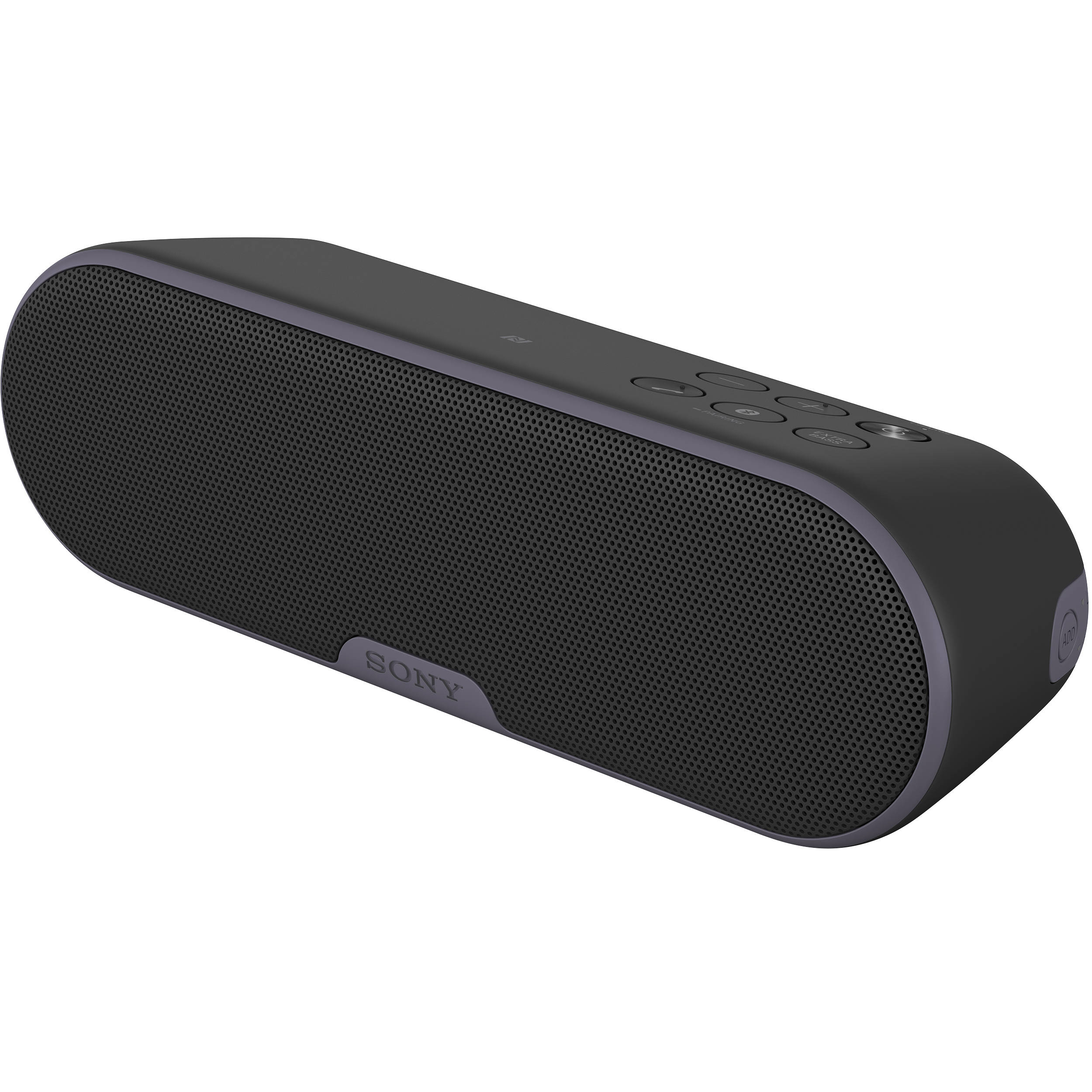 sony wireless speakers. sony srs-xb2 portable bluetooth wireless speaker (black) speakers f