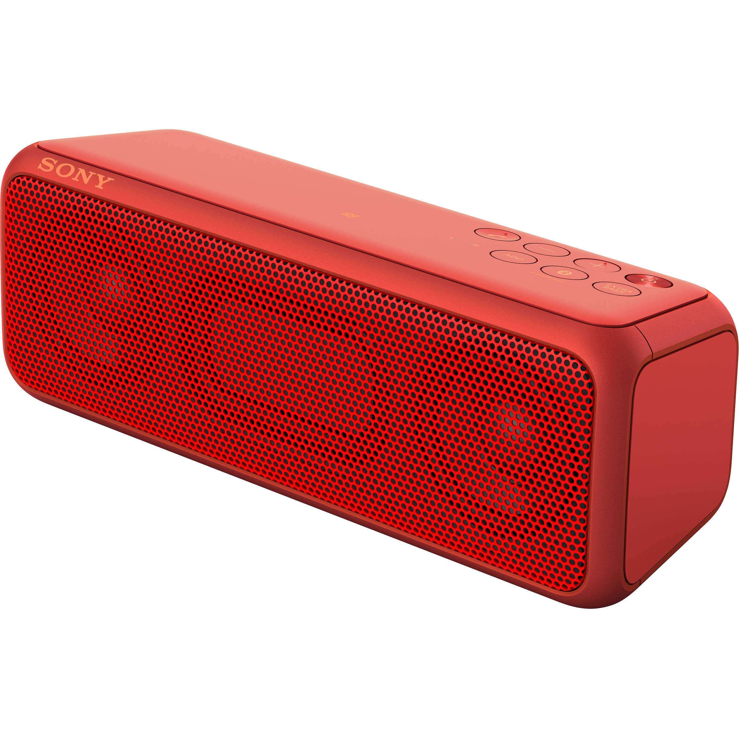 sony wireless speakers. sony srs-xb3 portable bluetooth wireless speaker (red) speakers