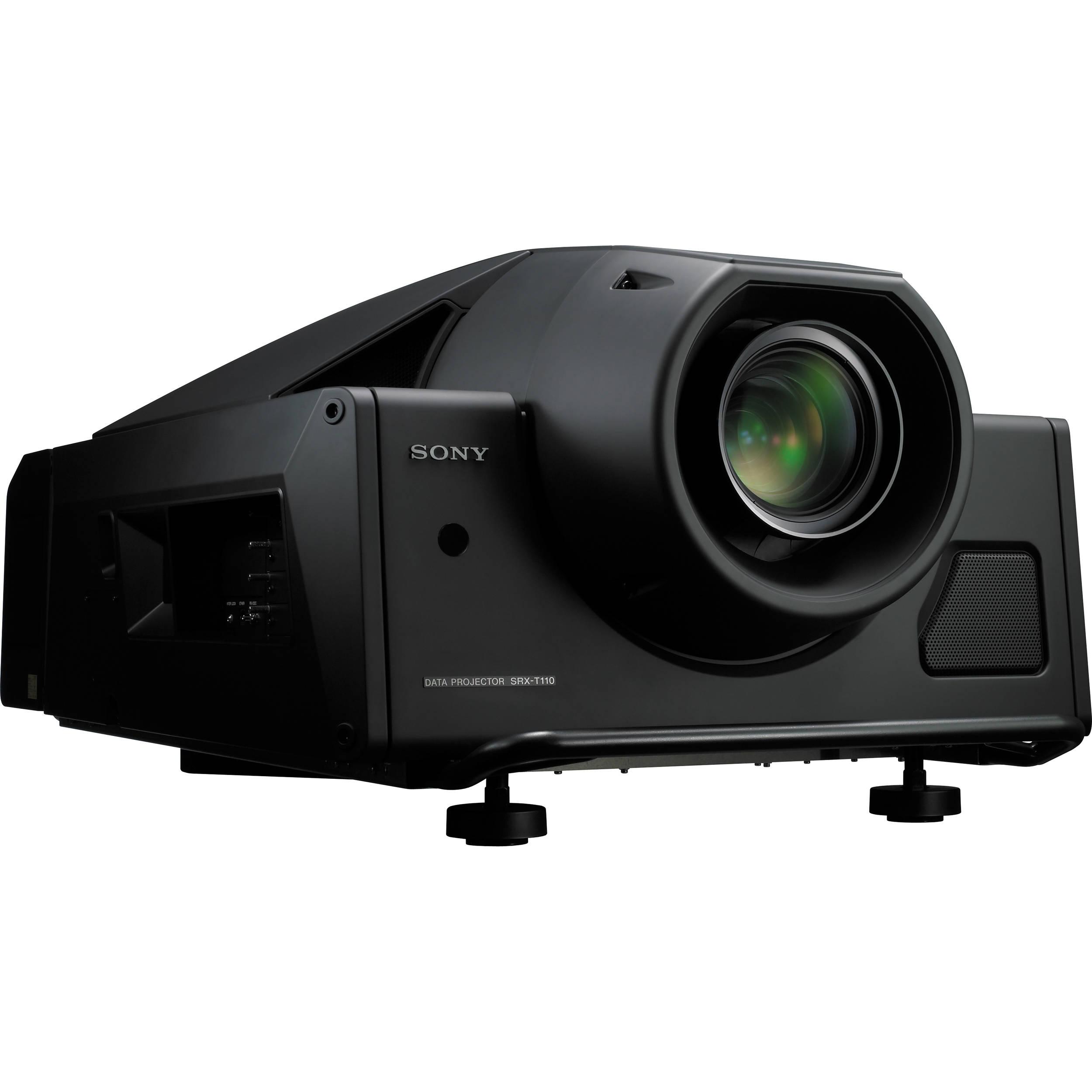 sony srx t110 4k sxrd 11 000 lumen projector srxt110 b h photo rh bhphotovideo com Sony 4K Laser Projector Sony 4K Laser Projector