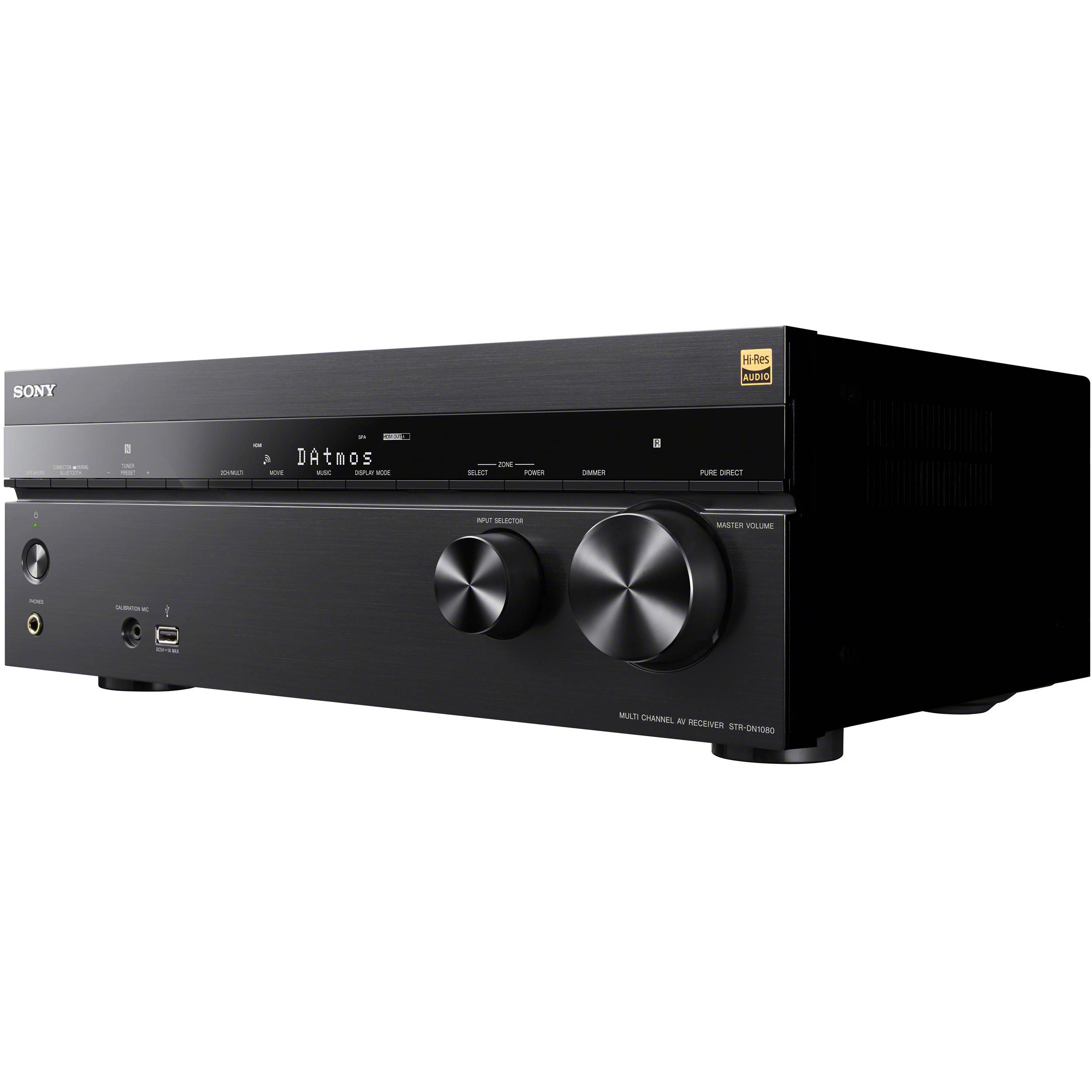 Receivers Amplifiers Bh Photo Video 100w Hifi Mosfet Amp Sony Str Dn1080 72 Channel Network A V Receiver