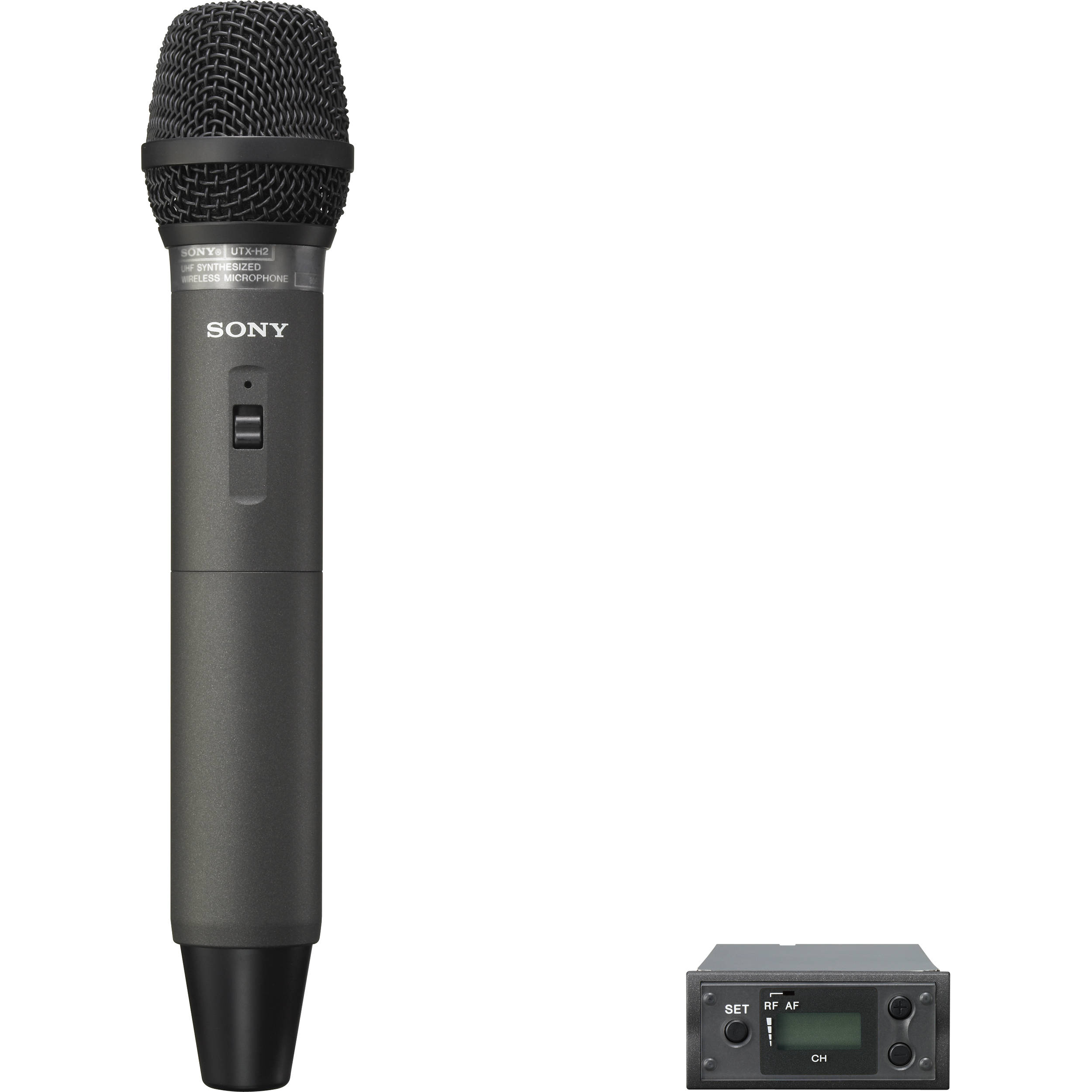used sony uwp x8 wireless handheld microphone system uwpx8 30. Black Bedroom Furniture Sets. Home Design Ideas