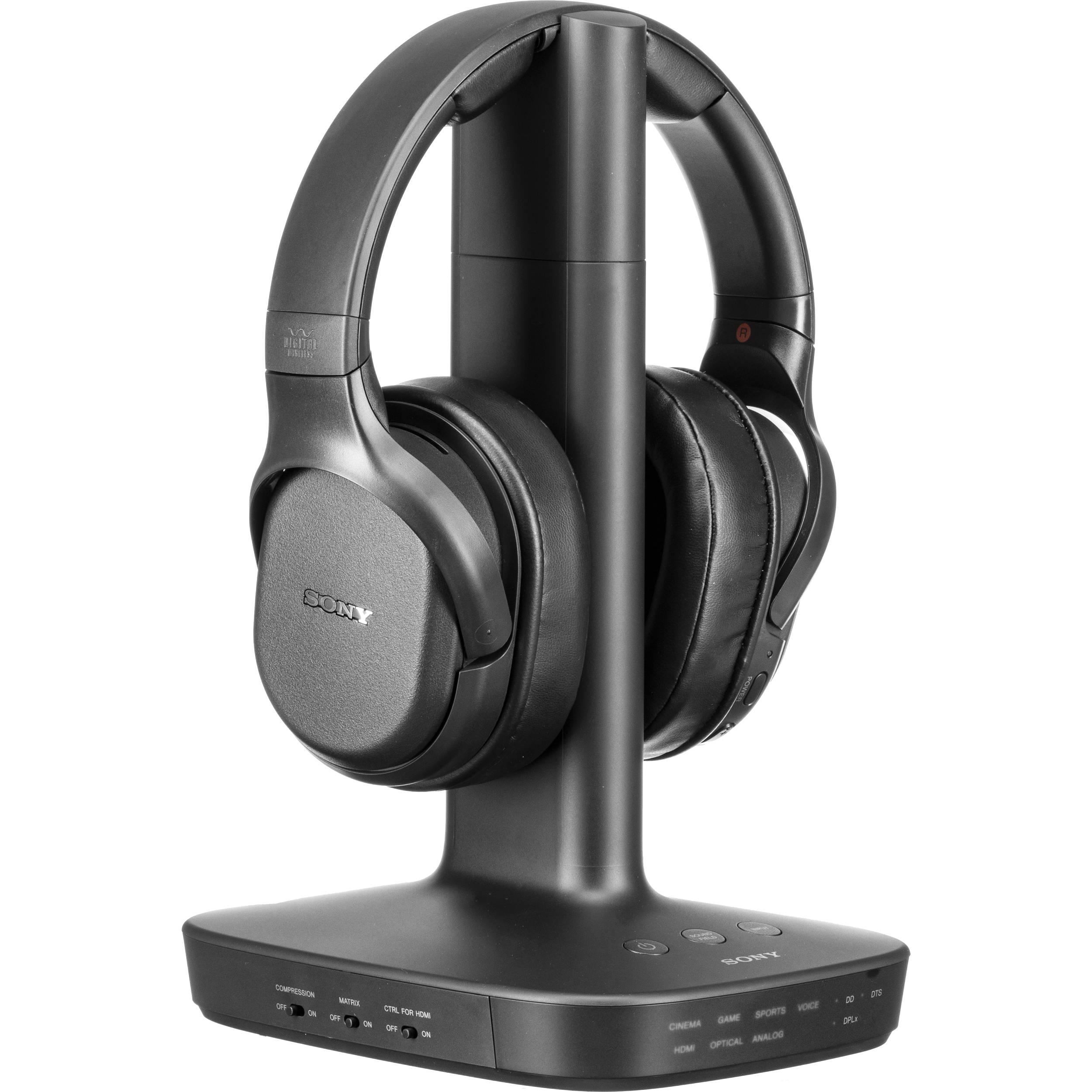 cb9743c31af Sony WH-L600 Digital Surround Wireless Over-Ear WHL600/B B&H