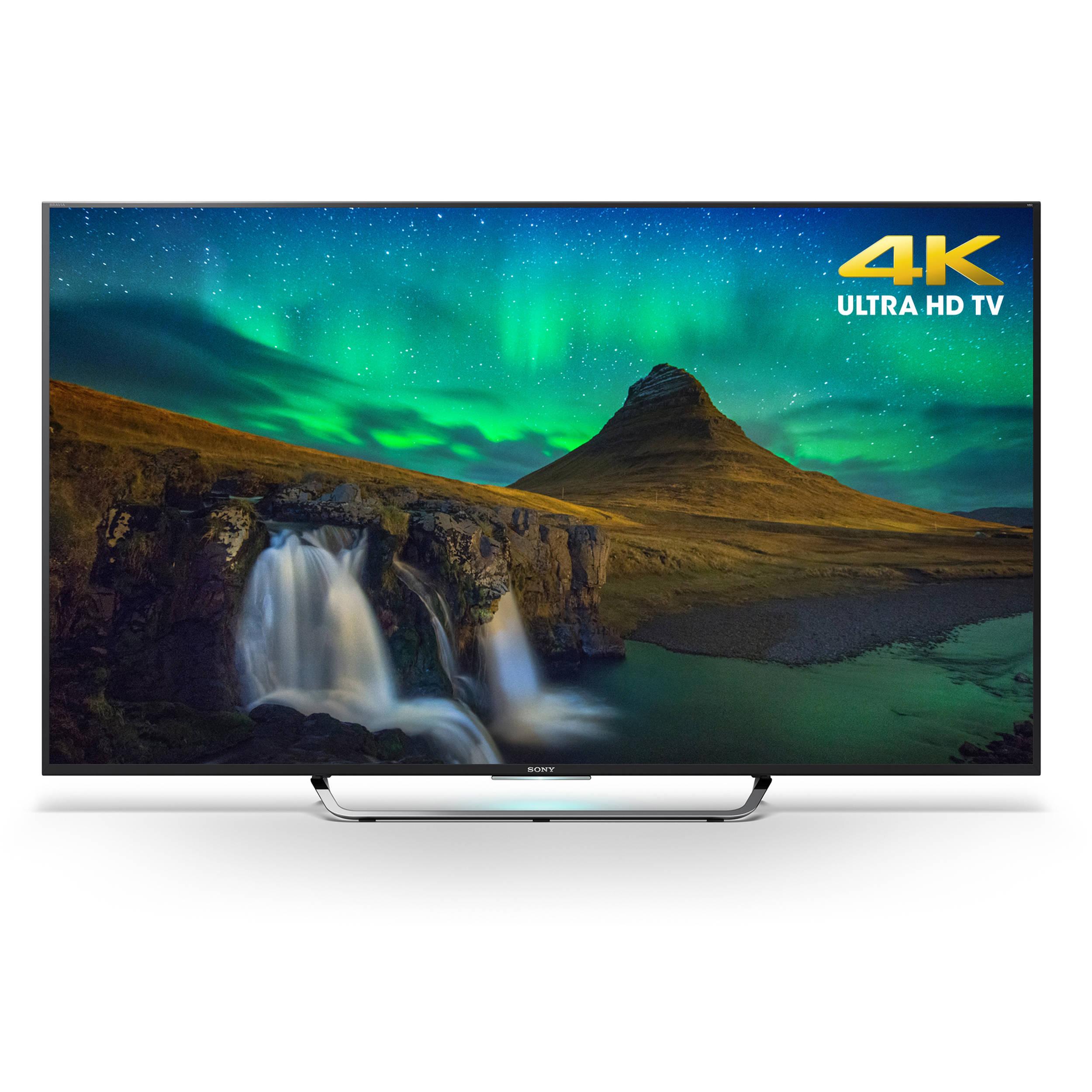 sony xbr 65x850c 65 class 4k smart led tv xbr 65x850c b h. Black Bedroom Furniture Sets. Home Design Ideas