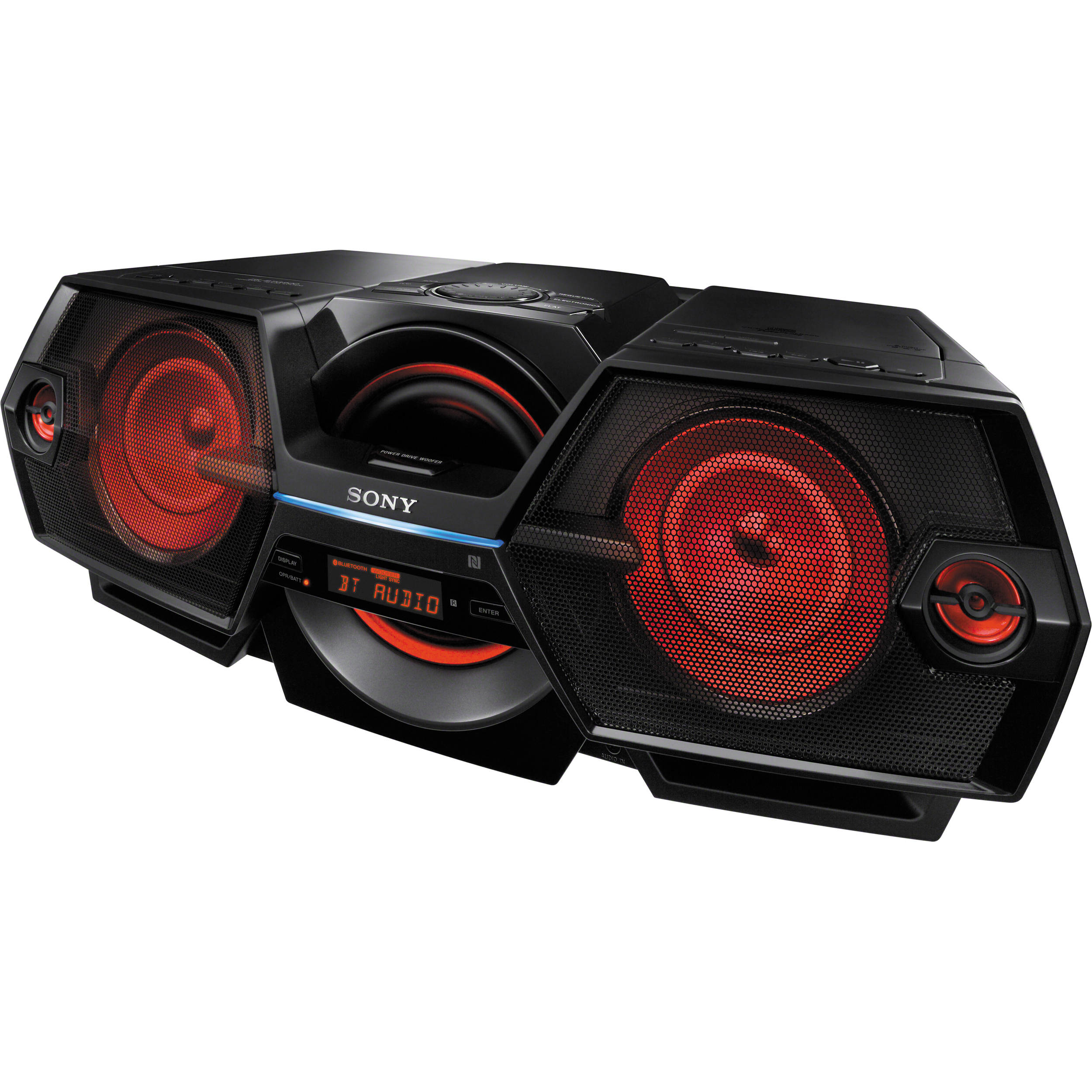 Sony zs btg900 wireless boombox system on boom box with cd player