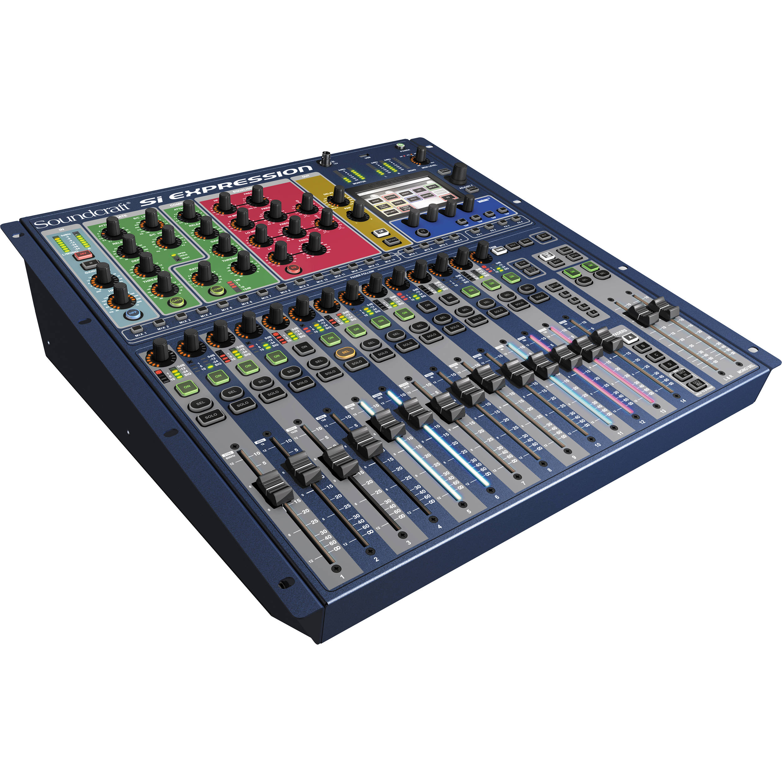 soundcraft si expression 1 digital mixer 5035677 b h photo video. Black Bedroom Furniture Sets. Home Design Ideas