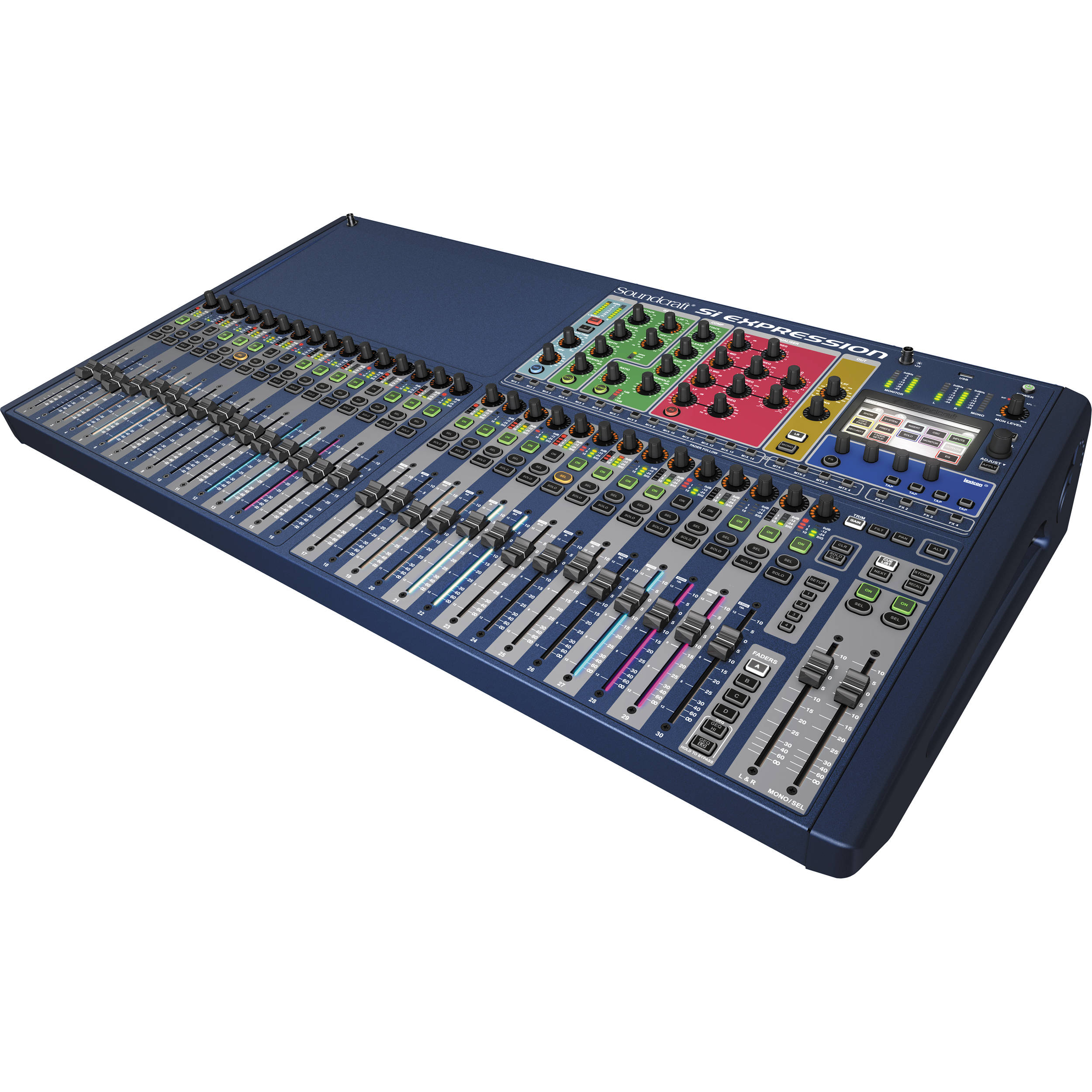 soundcraft si expression 3 digital mixer 5035679 b h photo video. Black Bedroom Furniture Sets. Home Design Ideas