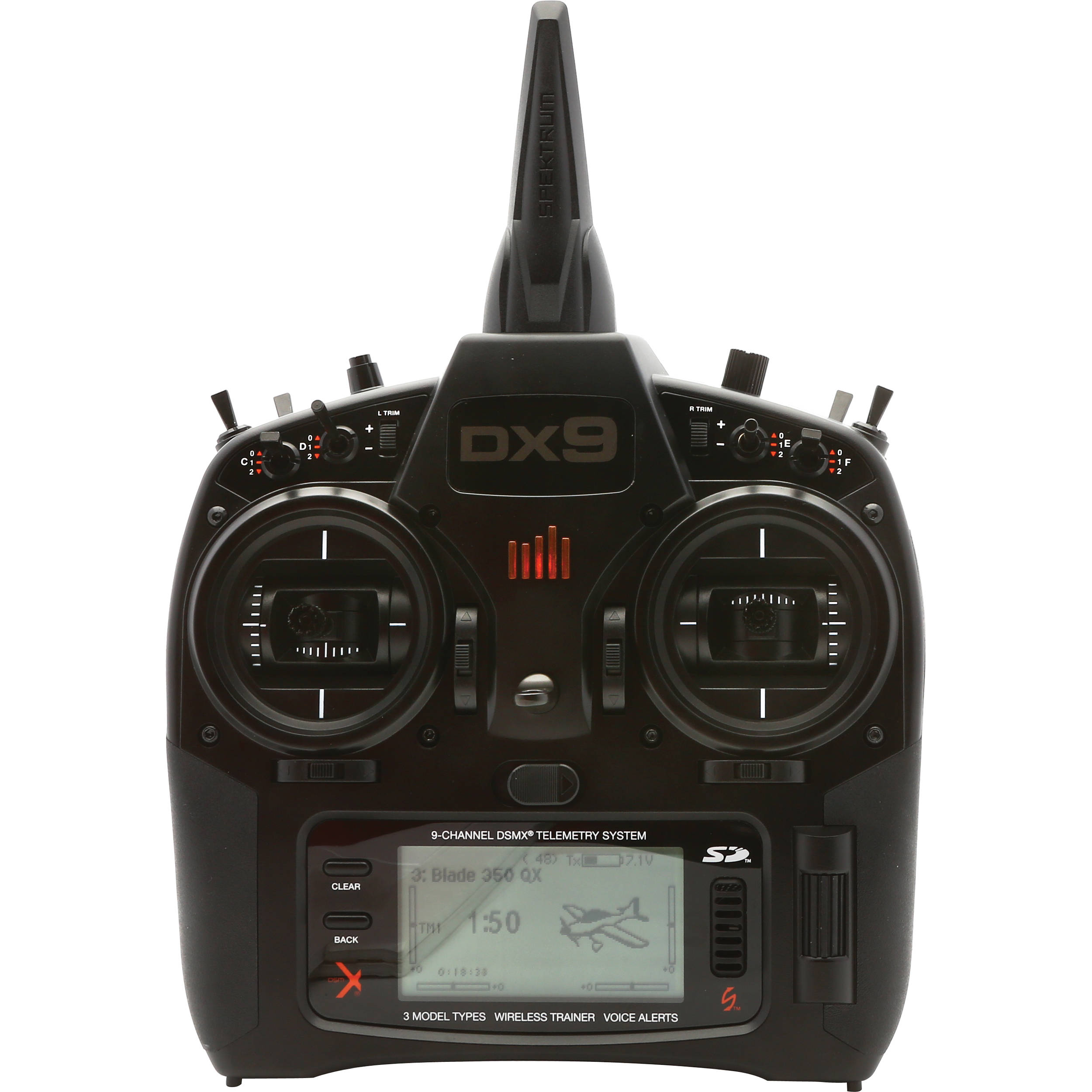 Spektrum SPM9900 DX9 DSMX Transmitter and Receiver System (9-Channel)