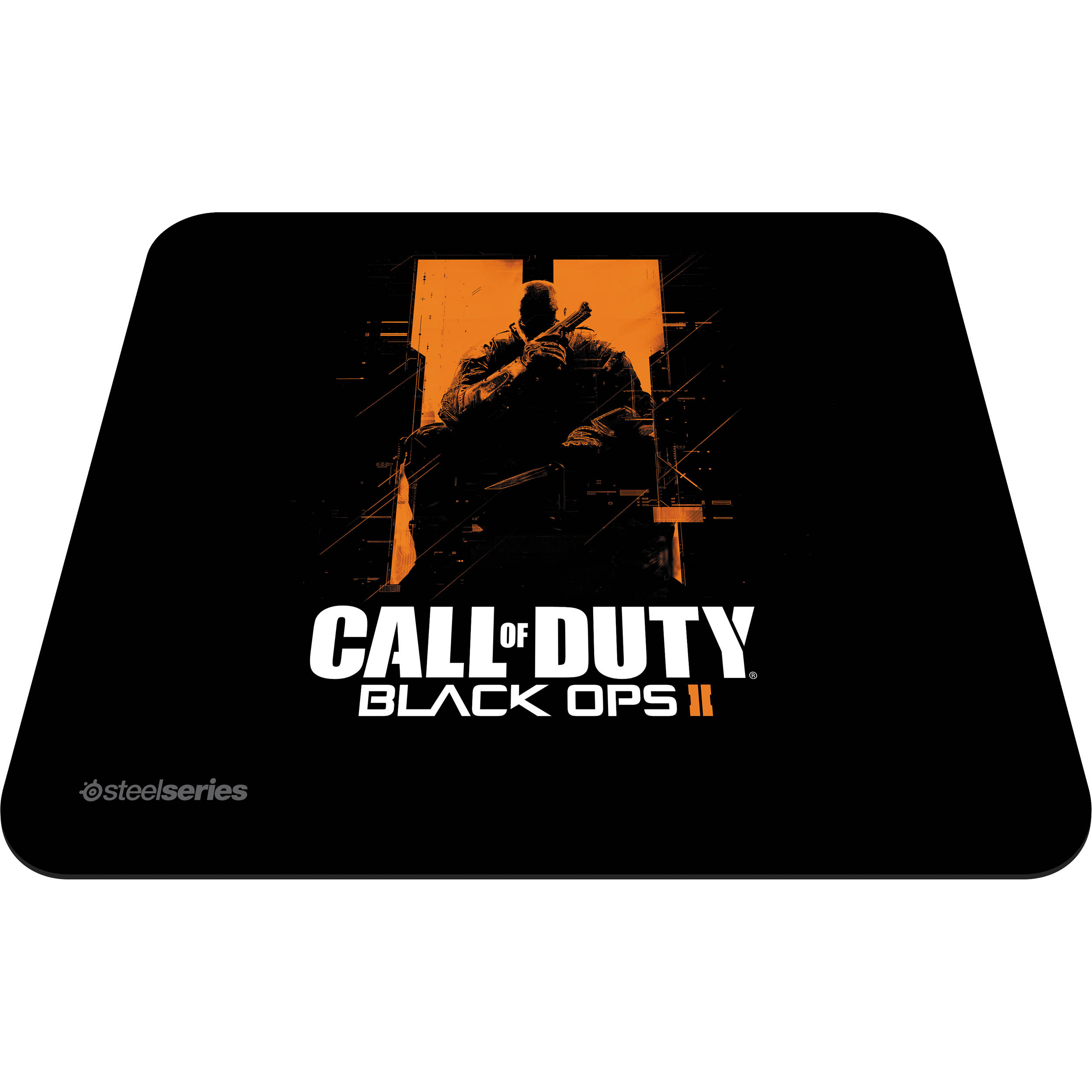 Steelseries qck call of duty black ops ii orange soldier 67264 steelseries qck call of duty black ops ii orange soldier edition mouse pad voltagebd