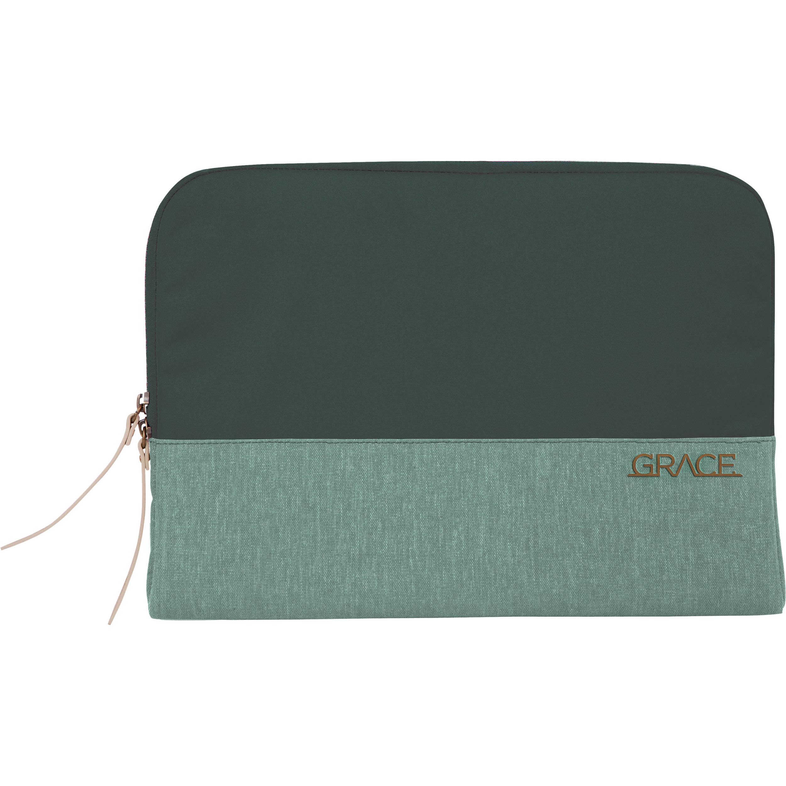 STM Grace, Woman's Laptop Sleeve for 15-Inch Laptop - Hunter Green (stm-114-106P-15)