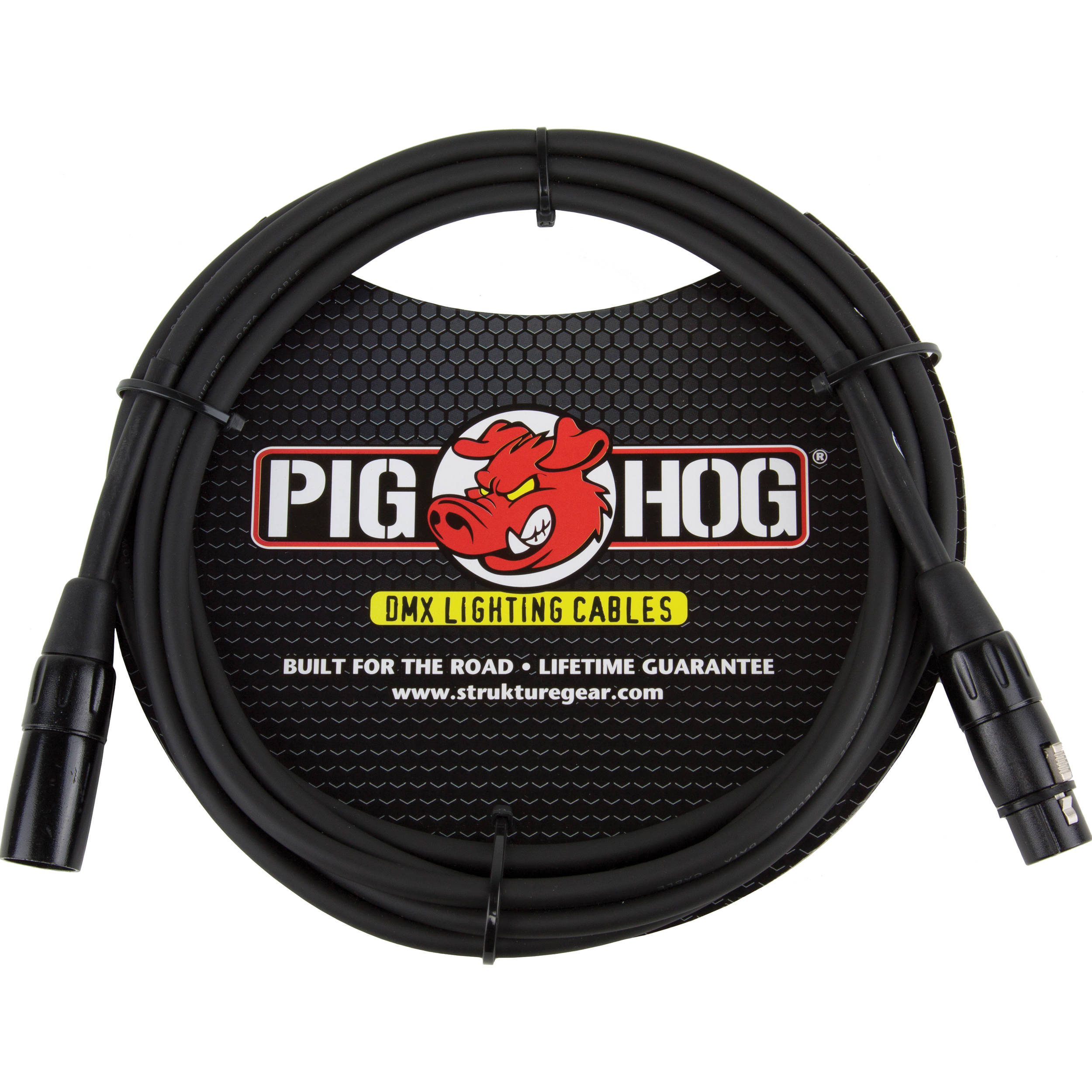 Pig Hog 3 Pin Xlr Dmx Cable 10 Phdmx10 Bh Photo Video How To Wire A Jack