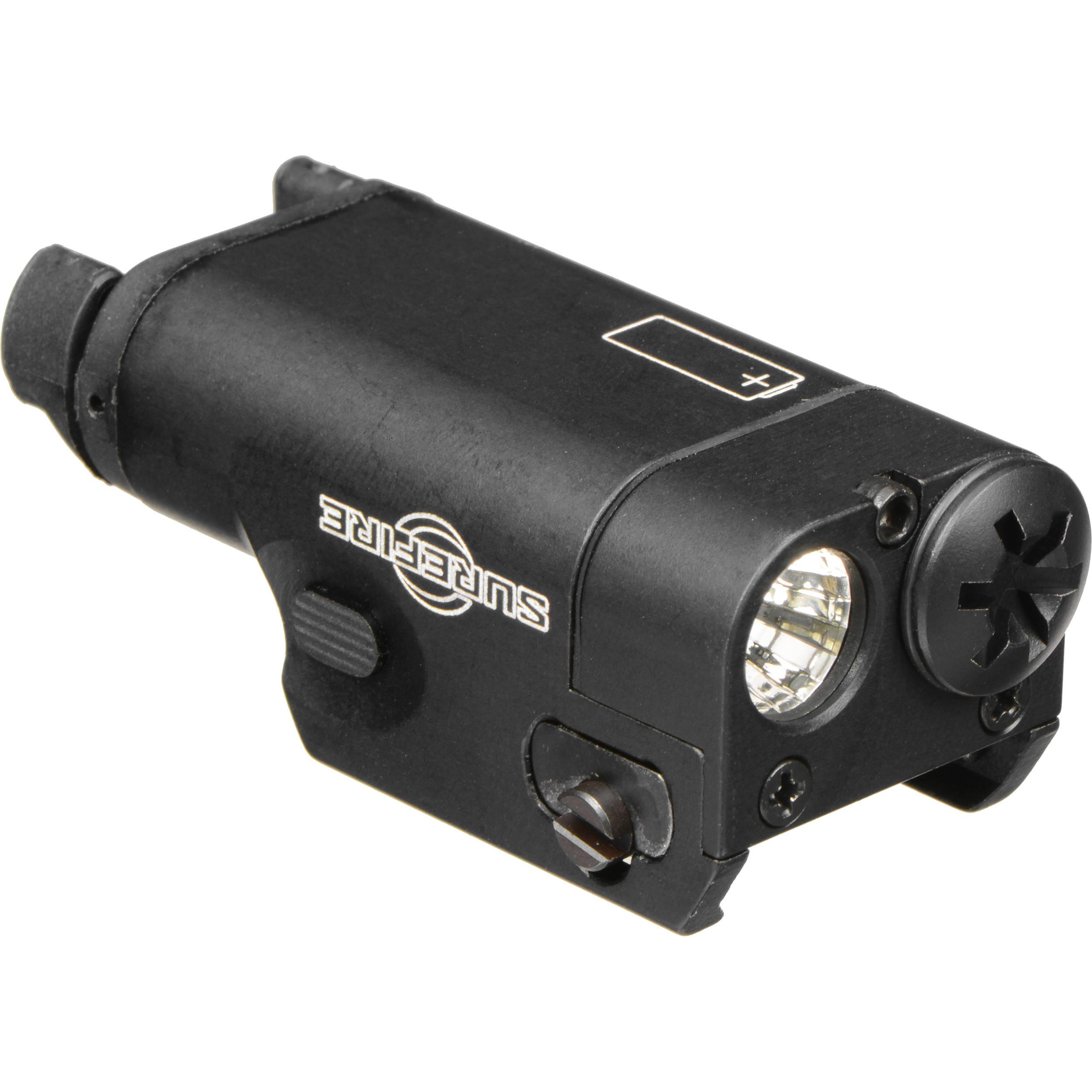 surefire xc1 ultra compact led handgun light black xc1 a b h. Black Bedroom Furniture Sets. Home Design Ideas