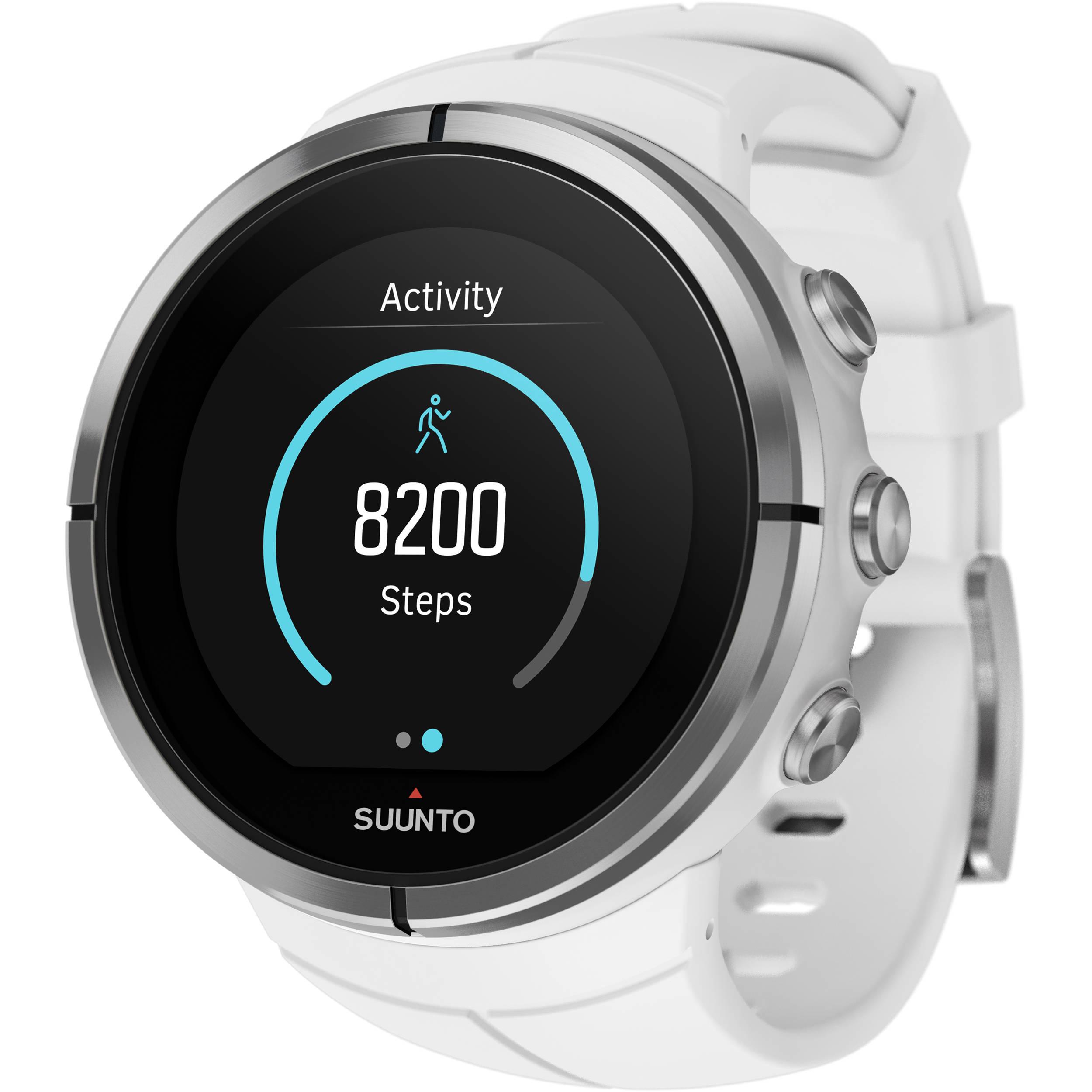 SUUNTO Spartan Ultra Sport Watch (White) SS022661000 B&H Photo