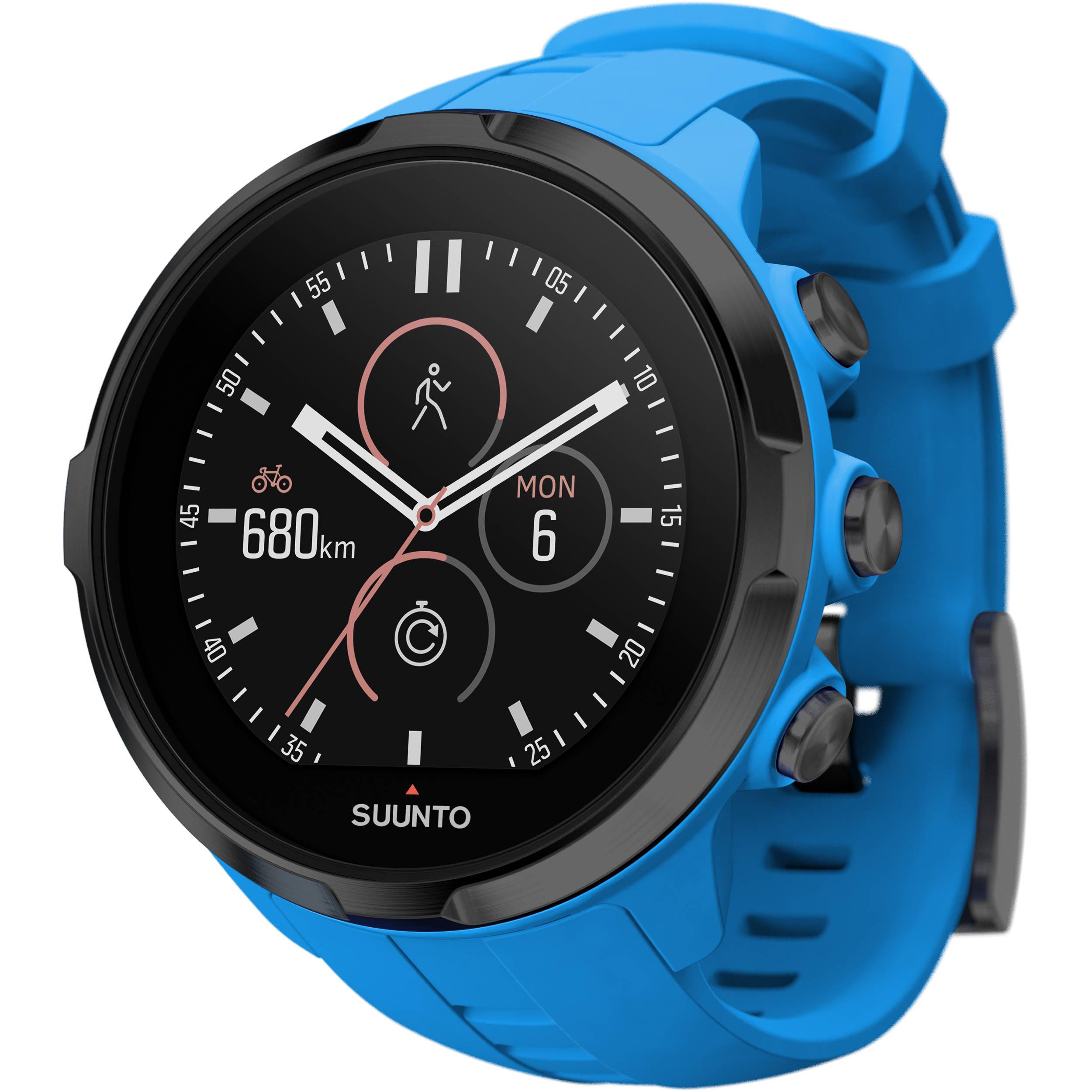SUUNTO Spartan Sport Wrist HR Watch (Blue) SS022663000 B&H ...