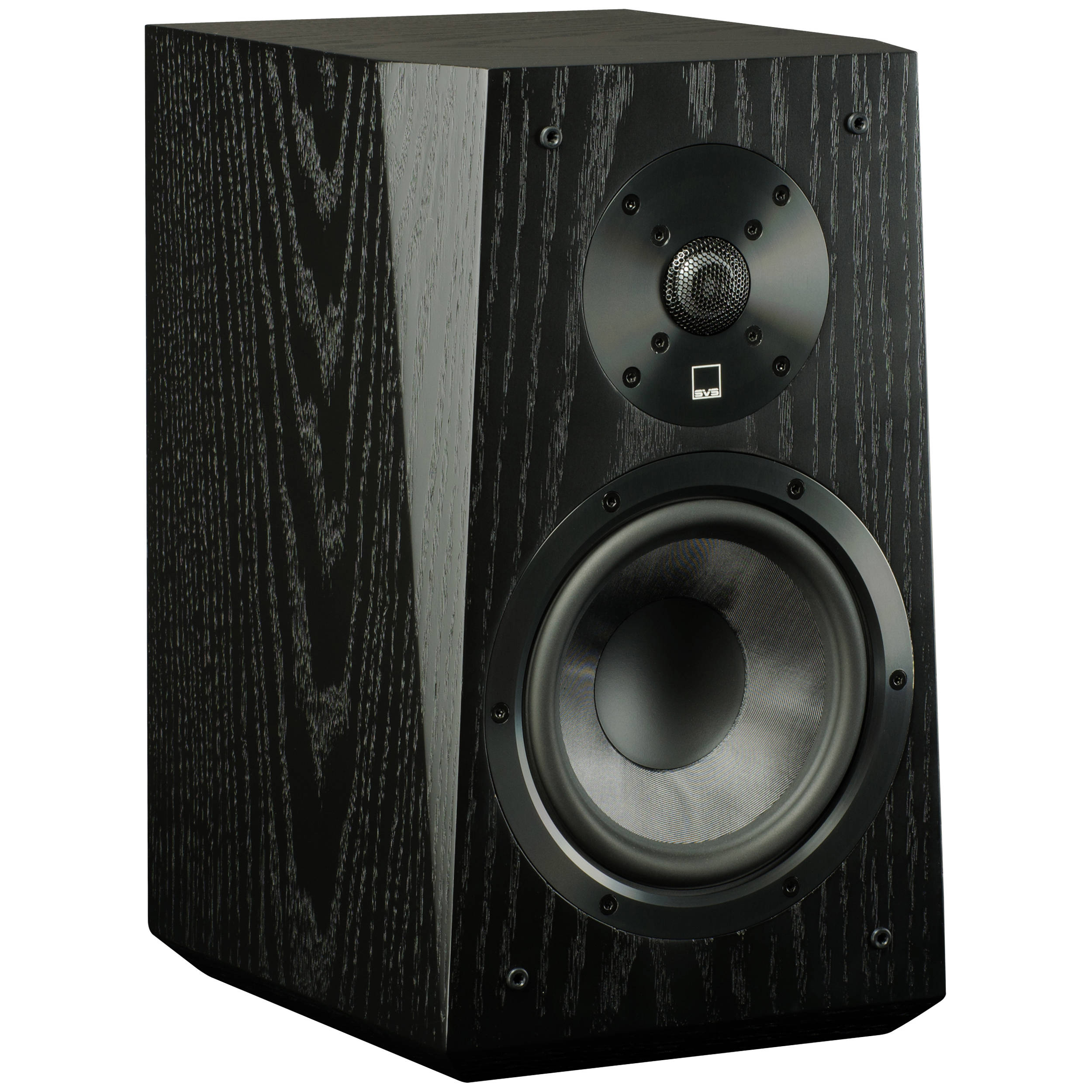SVS Ultra 2-Way Bookshelf Speakers (Pair, Black Oak Veneer)