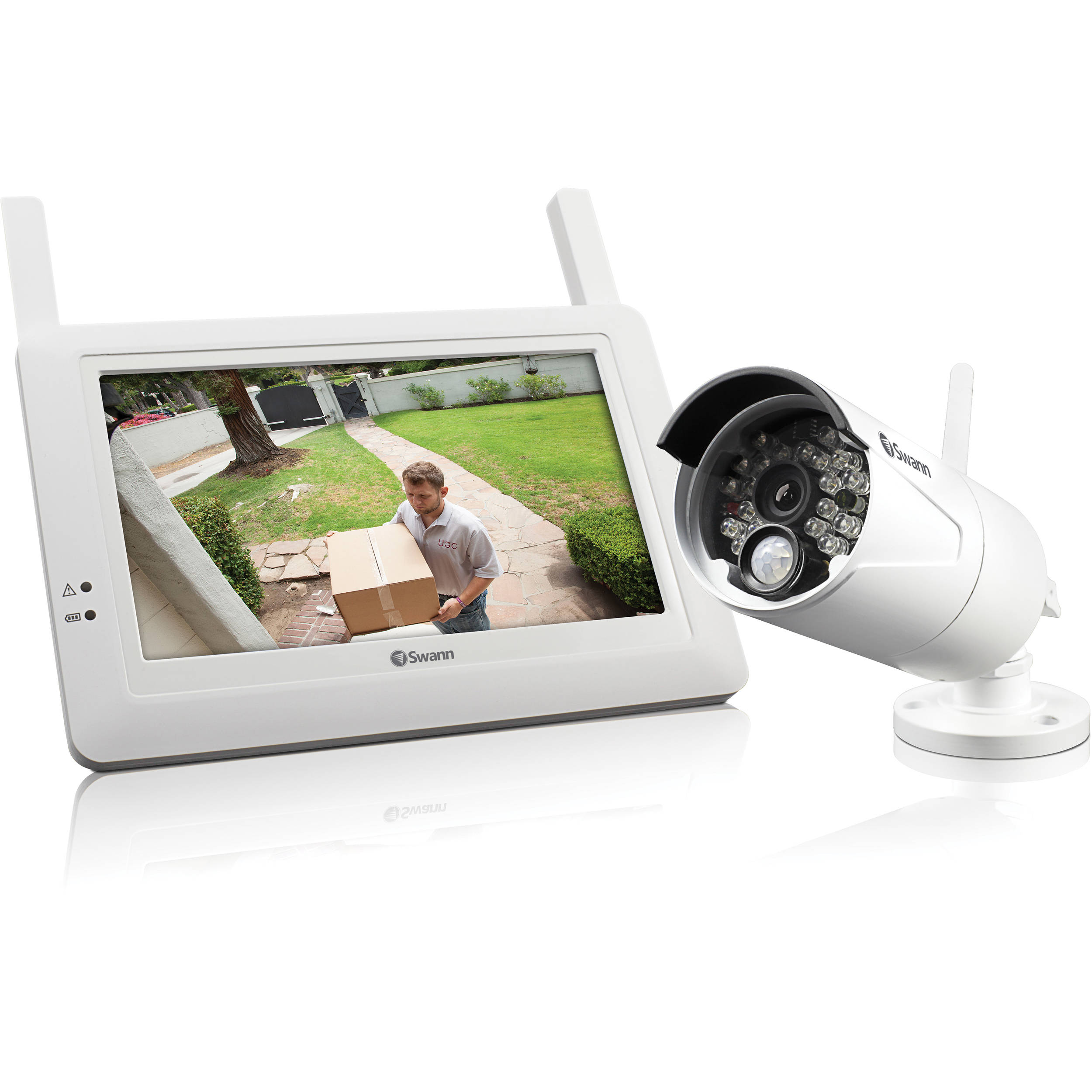 Outdoor wireless surveillance camera kits