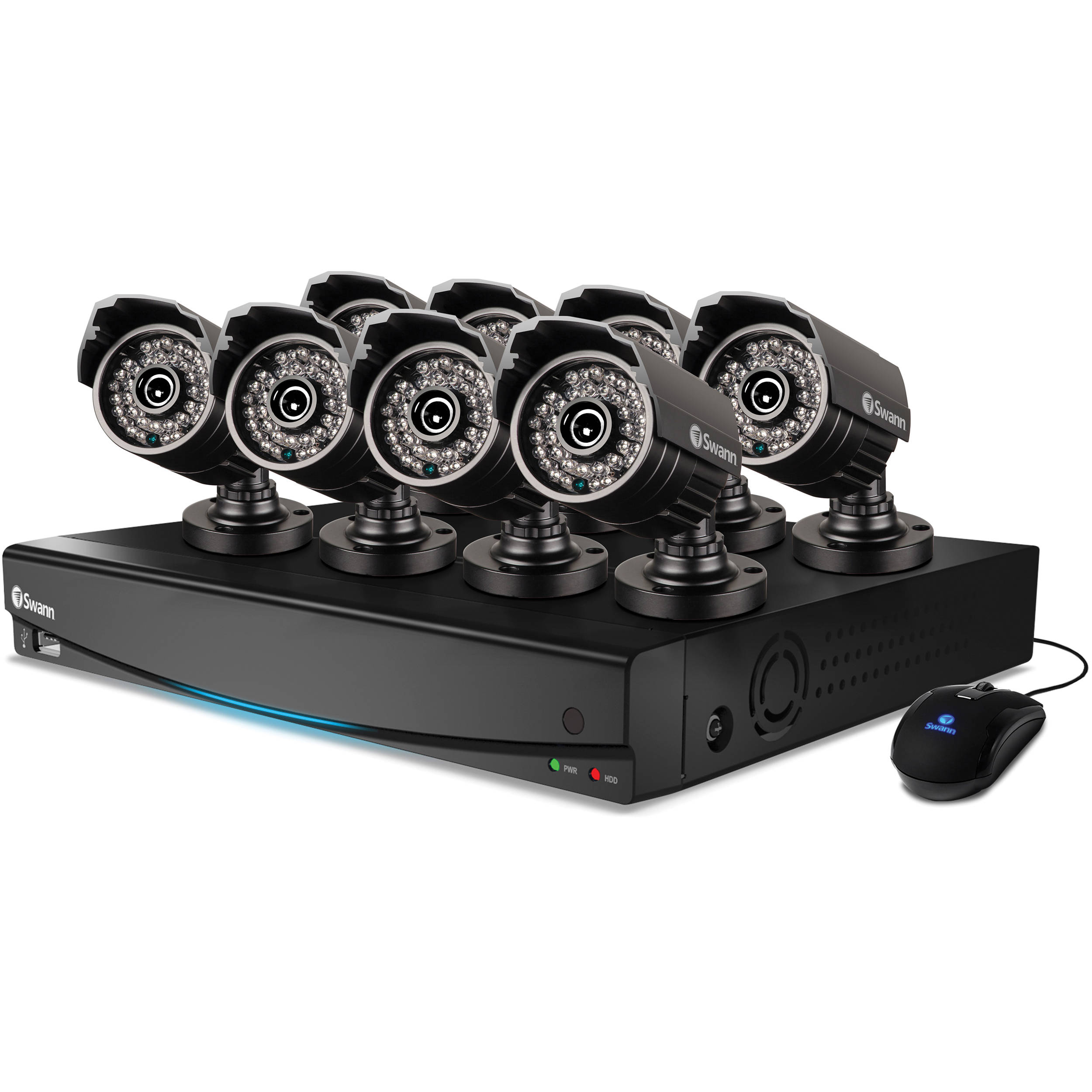 Swann DVR8-3425 8-Channel 960H DVR with 1TB HDD SWDVK-834258S-US