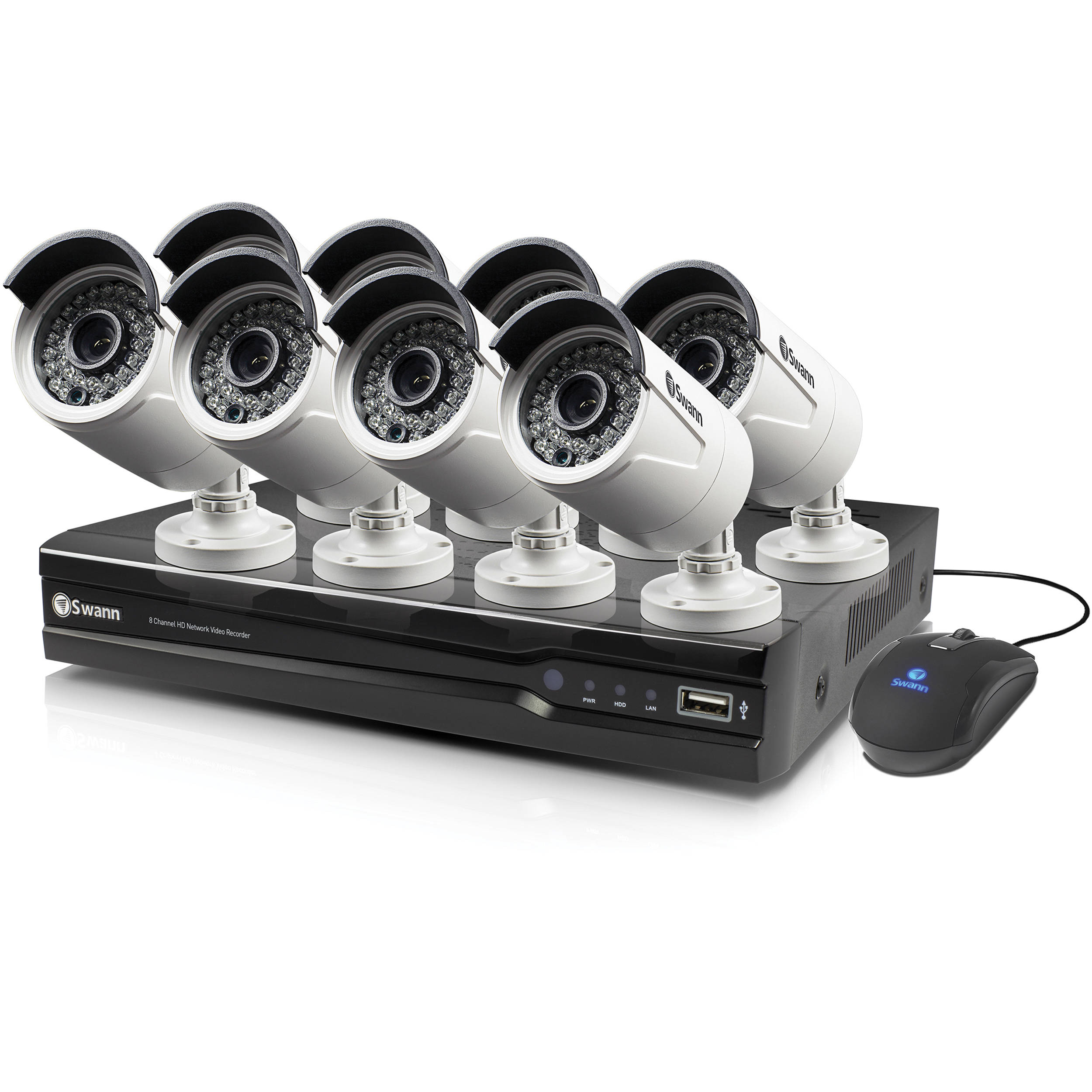 8 Camera Nvr Swann Swnvk Us Nvr Channel Mp Nvr With