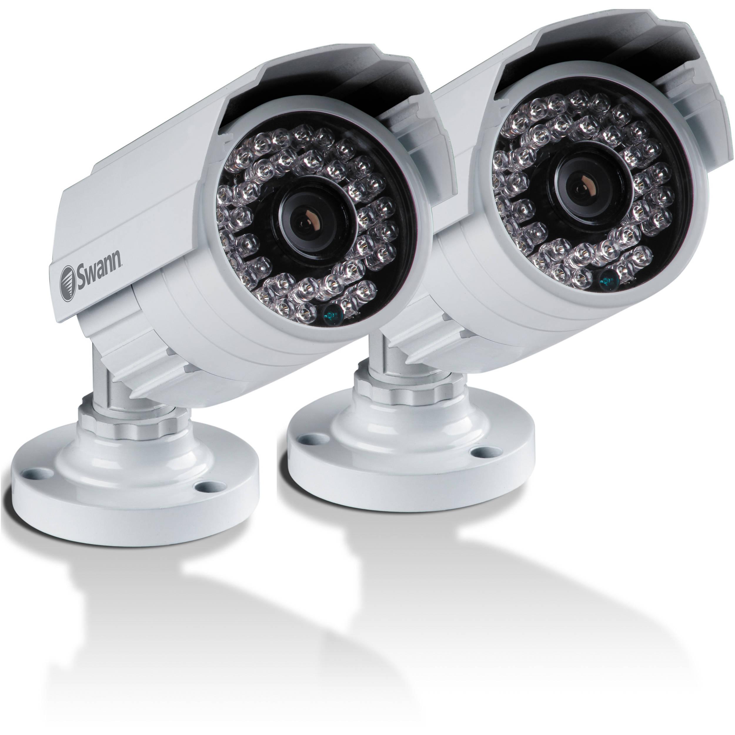 Swann Multi-Purpose Day / Night Security Cameras SWPRO-642PK2-US