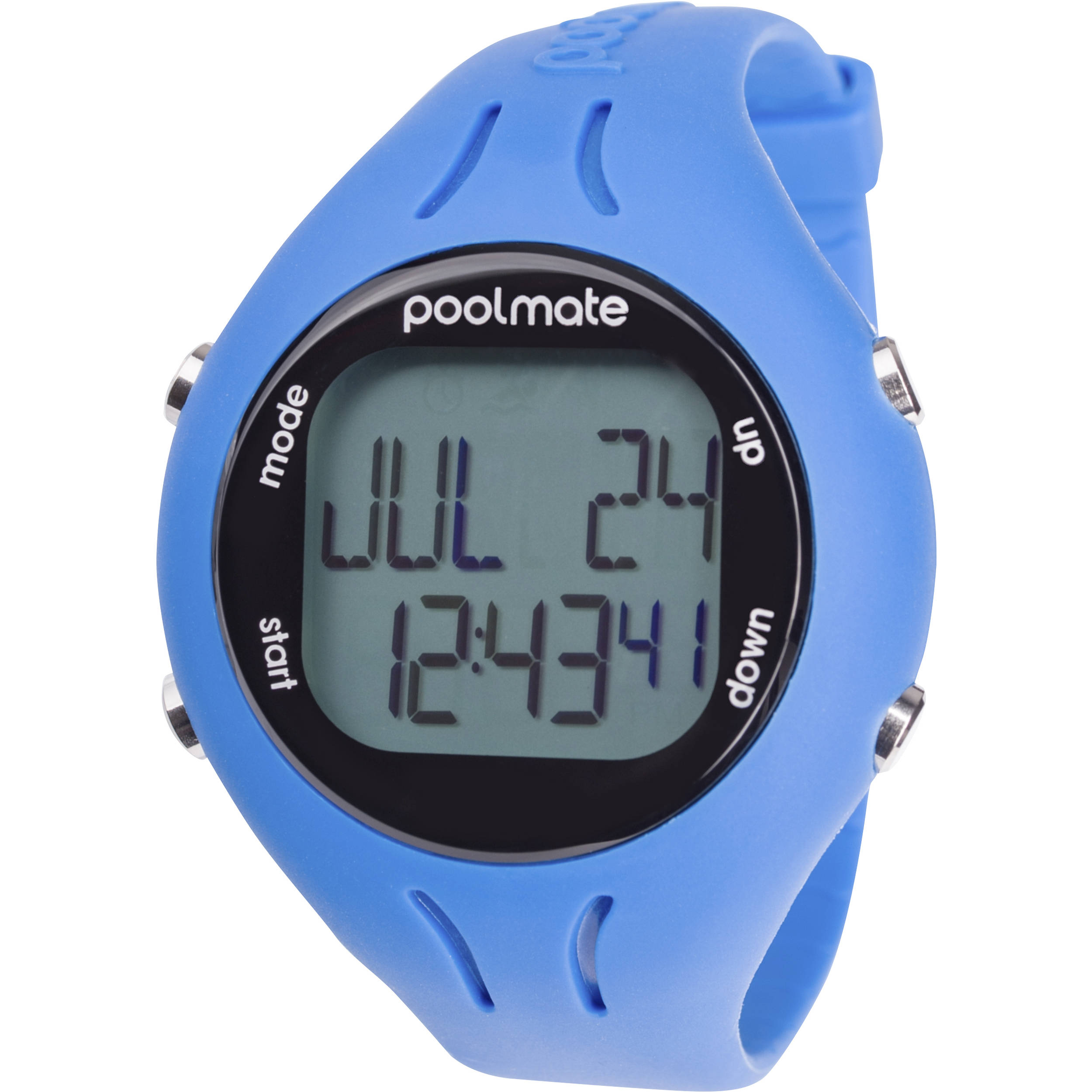 Swimovate Poolmate 2 Swimming Watch Blue Pm2bl B H Photo Video