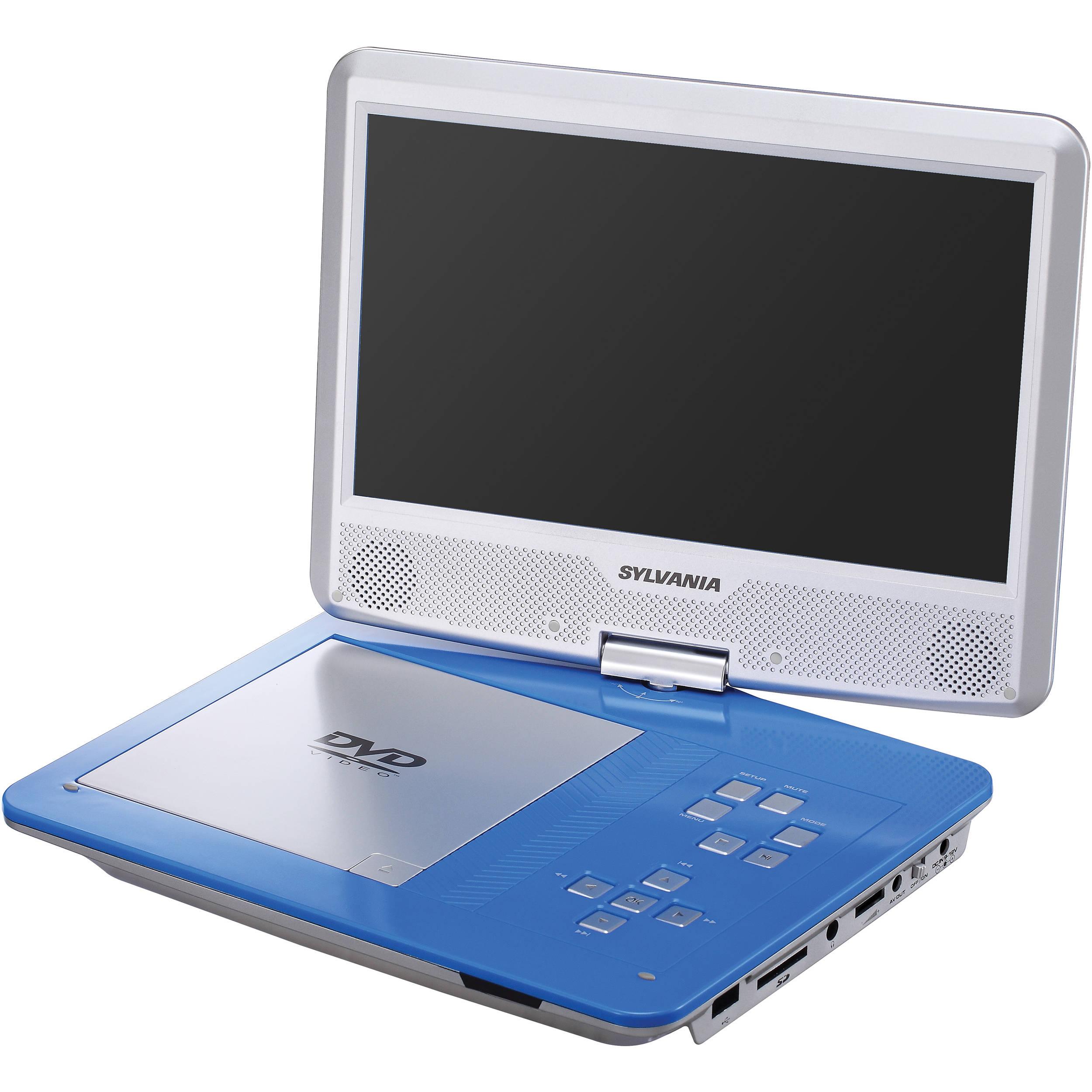 Sylvania Dvd1030 10 Portable Dvd Player Sdvd1030 Bh Photo