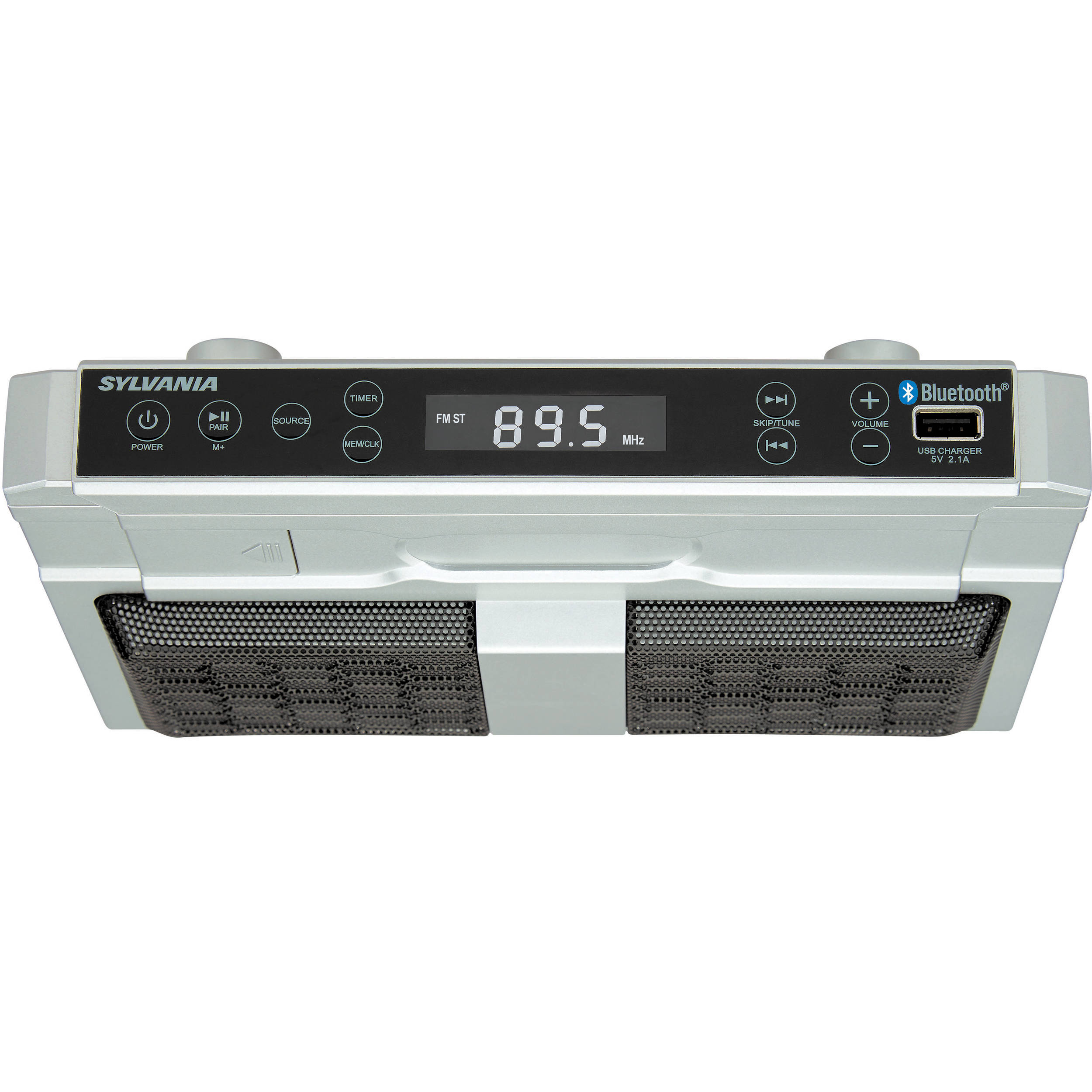 Sylvania SKCR2810BT Under Counter Bluetooth Radio
