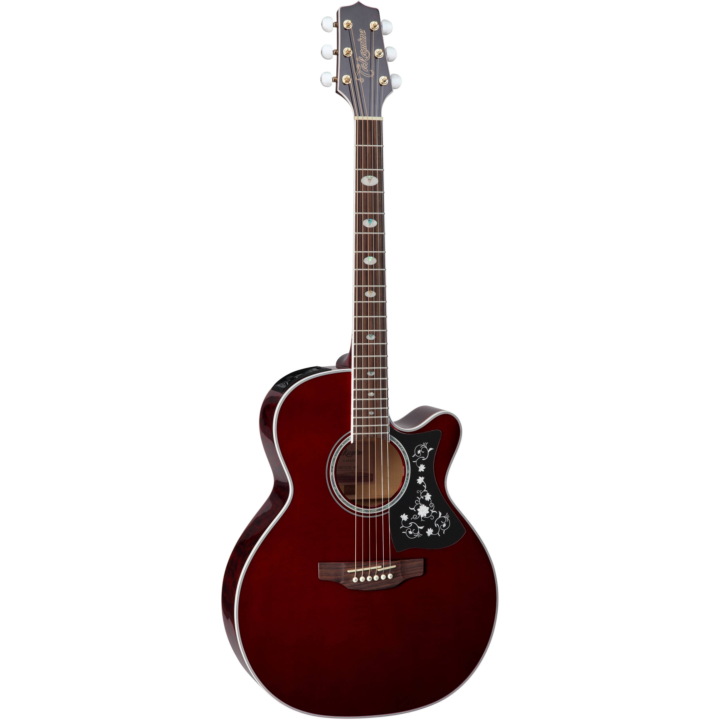 Takamine GN75CE NEX Style Acoustic Electric Guitar Wine Red