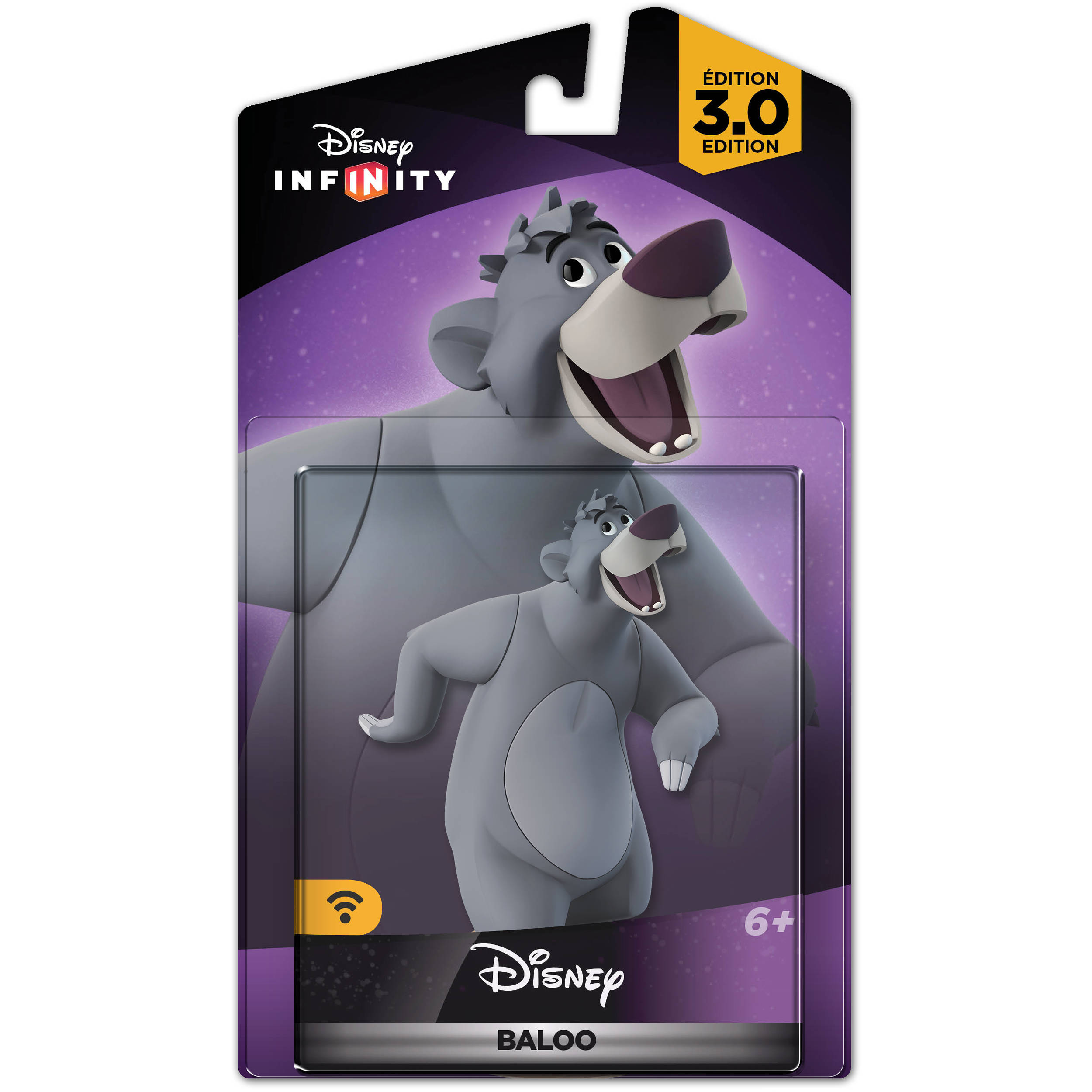 infinity 3. disney baloo infinity 3.0 figure (disney series) 3 d