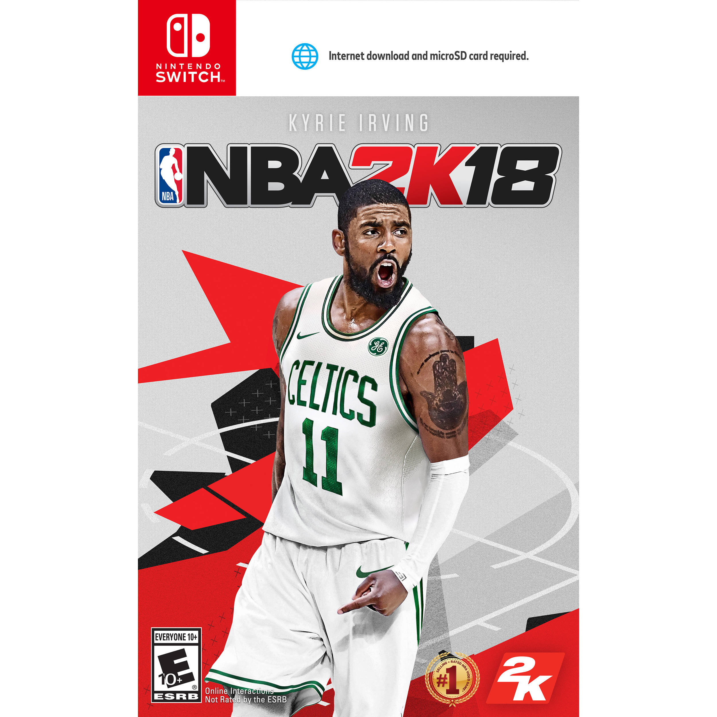dc91df4f12b Take-Two NBA 2K18 (Nintendo Switch) 45906 B&H Photo Video