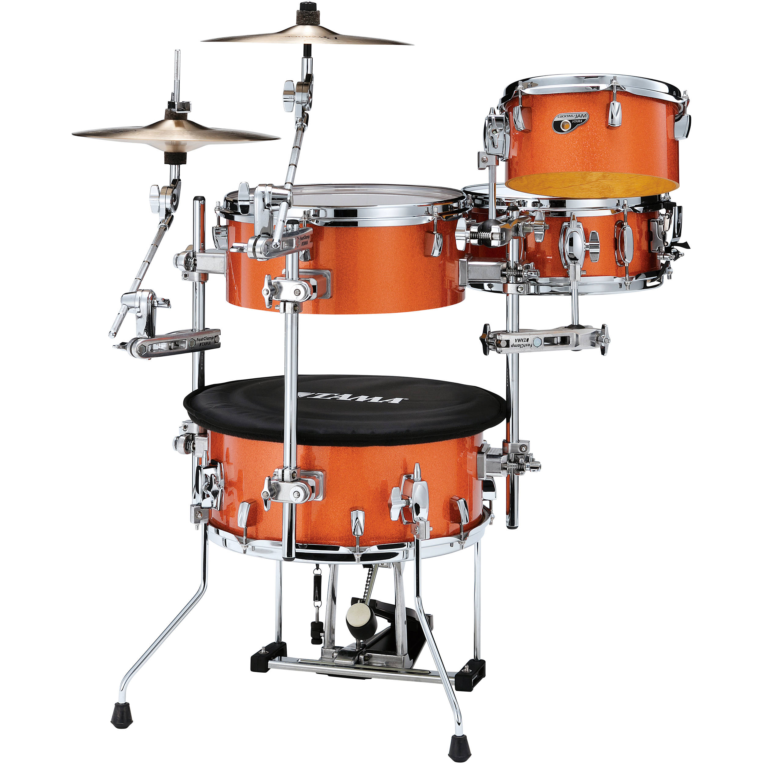 Portable drum kit
