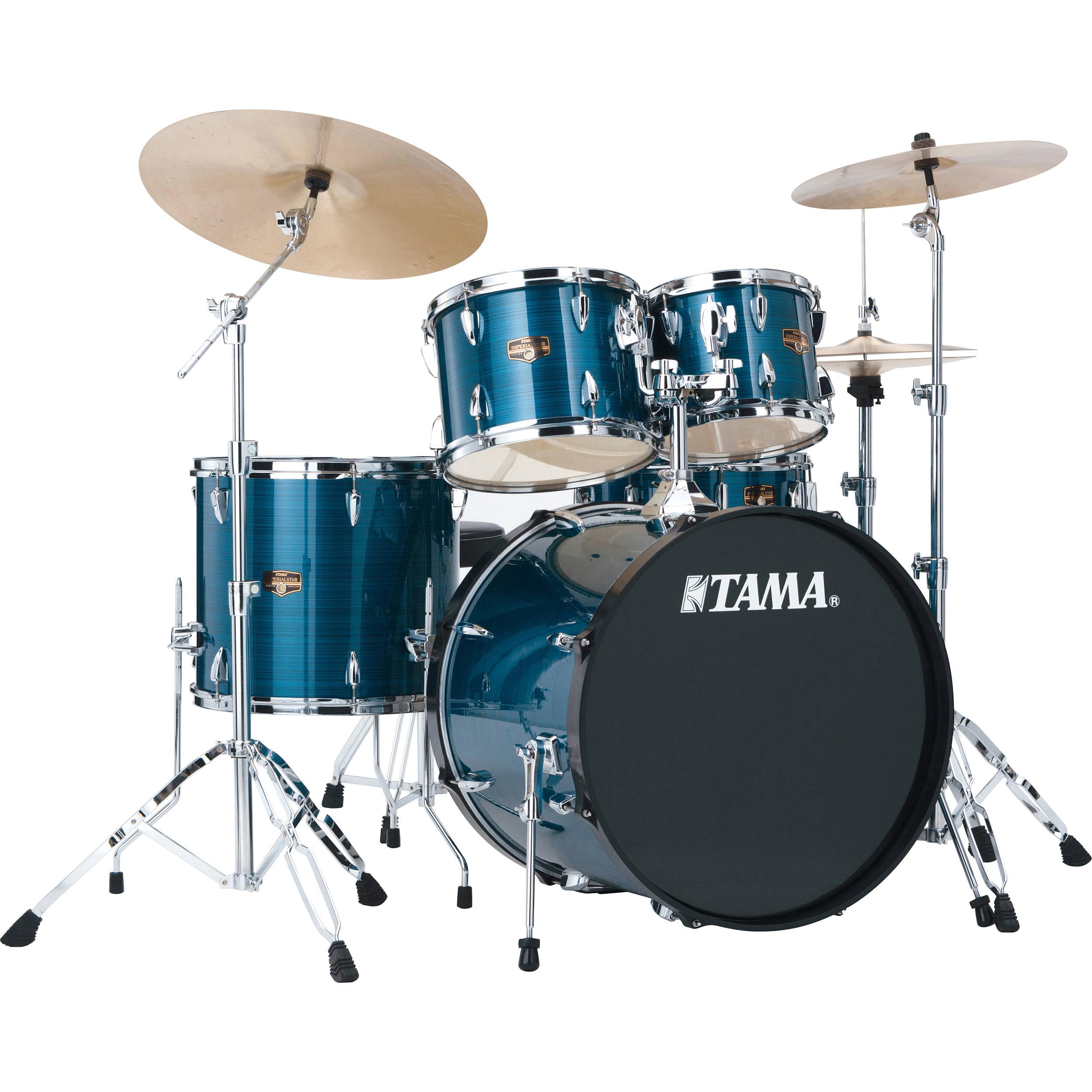 tama ip52kchlb imperialstar 5 piece drum set ip52kchlb b h photo. Black Bedroom Furniture Sets. Home Design Ideas